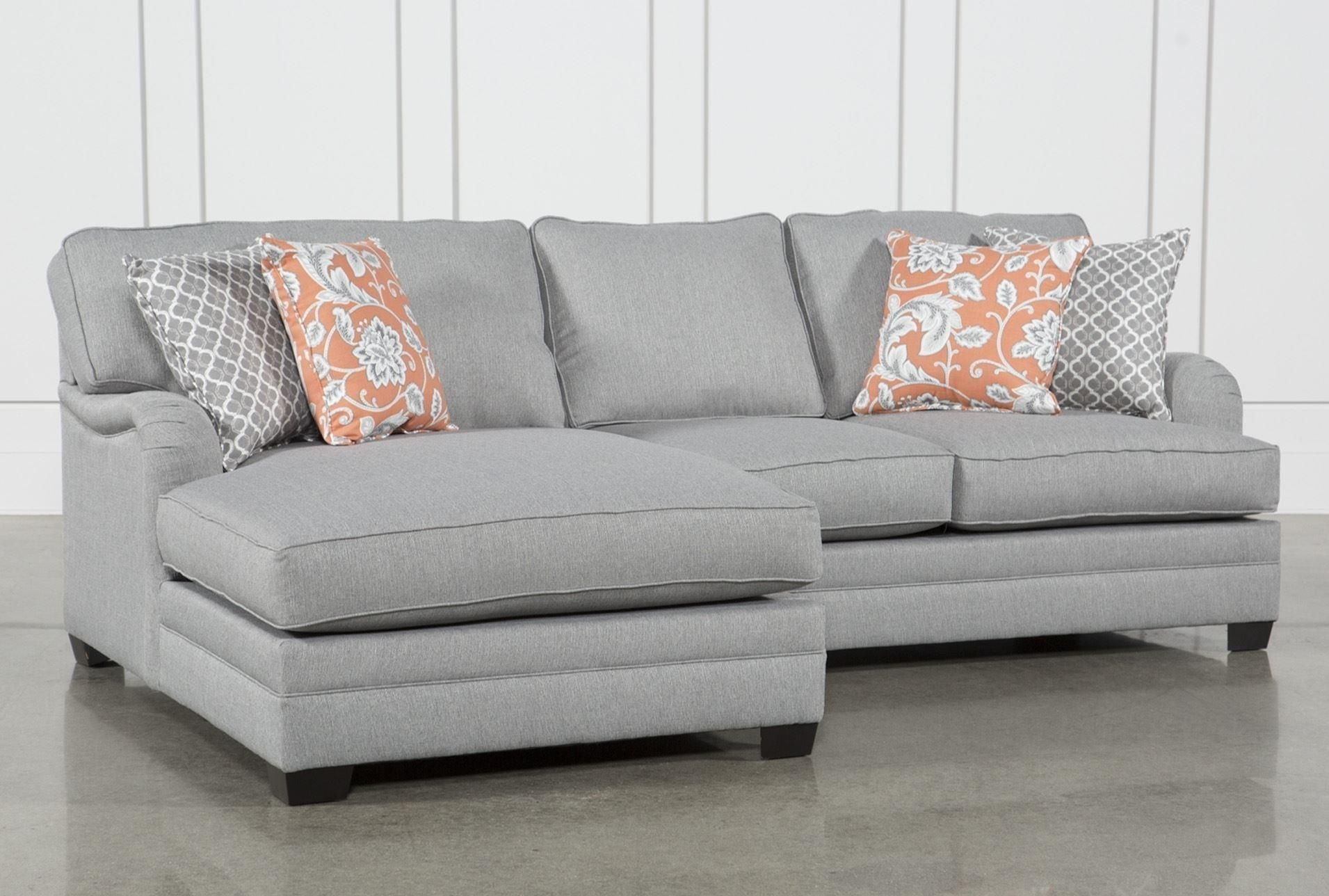 Marissa 2 Piece Sectional W/laf Chaise, Grey, Sofas throughout Mcculla Sofa Sectionals With Reversible Chaise (Image 17 of 30)