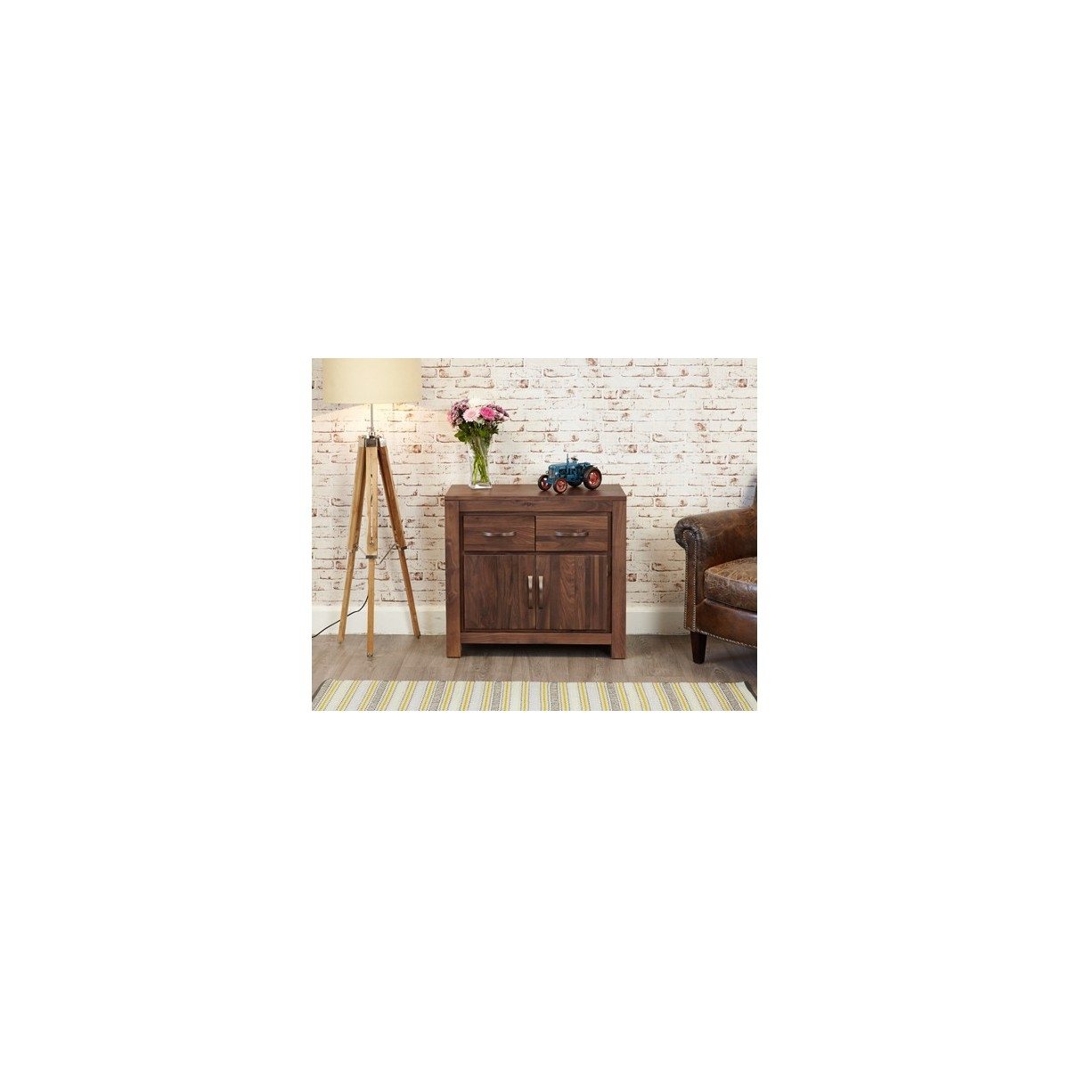 Mayan Walnut Small Sideboard - Alto Picco | Furnishing Your Lifestyle in Walnut Small Sideboards (Image 14 of 30)