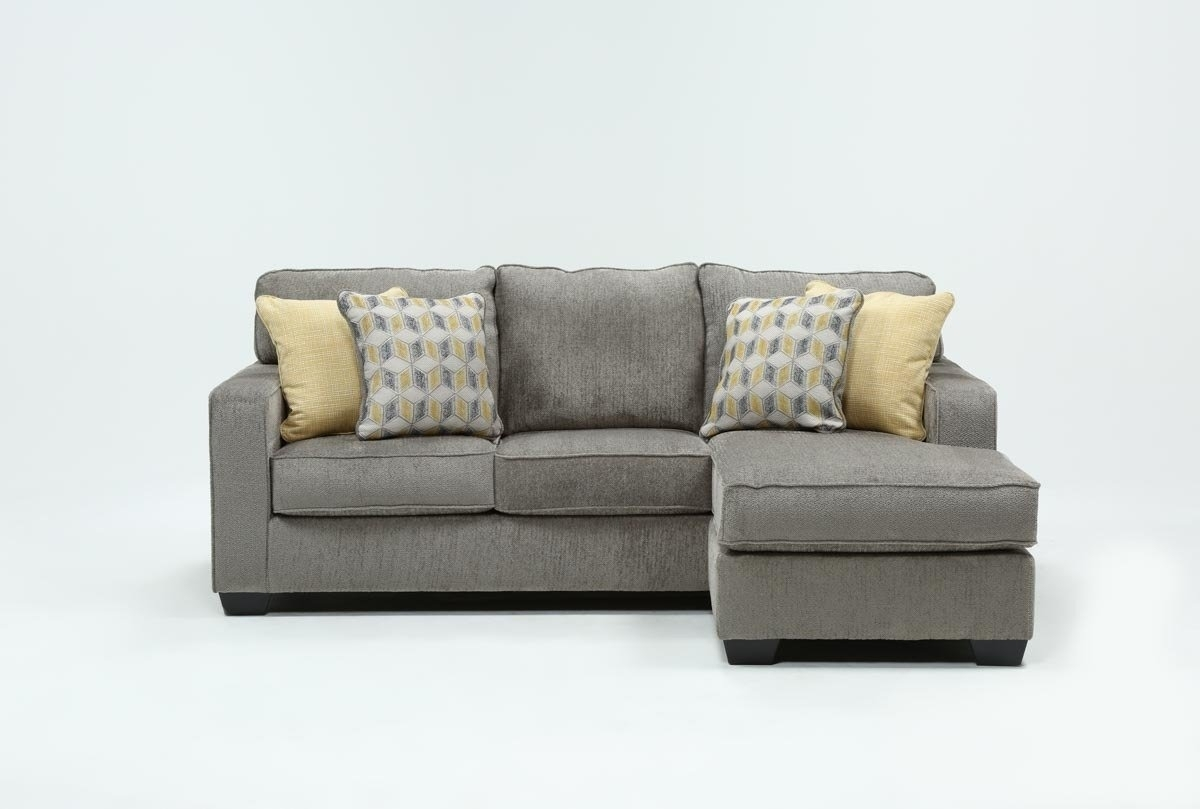 Mcculla Sofa With Reversible Chaise | Living Spaces intended for London Optical Reversible Sofa Chaise Sectionals (Image 15 of 30)