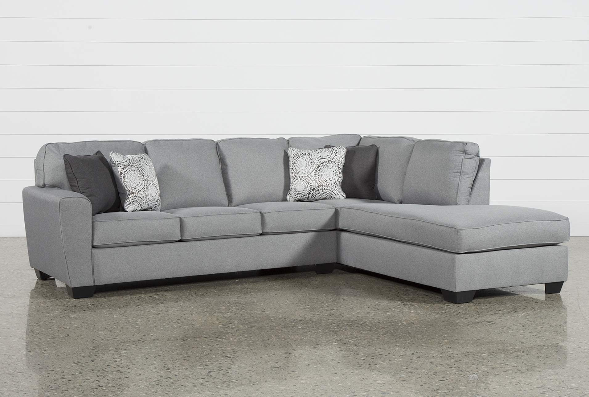 Mcdade Ash 2 Piece Sectional W/raf Chaise | Ash And Products regarding Josephine 2 Piece Sectionals With Laf Sofa (Image 17 of 30)