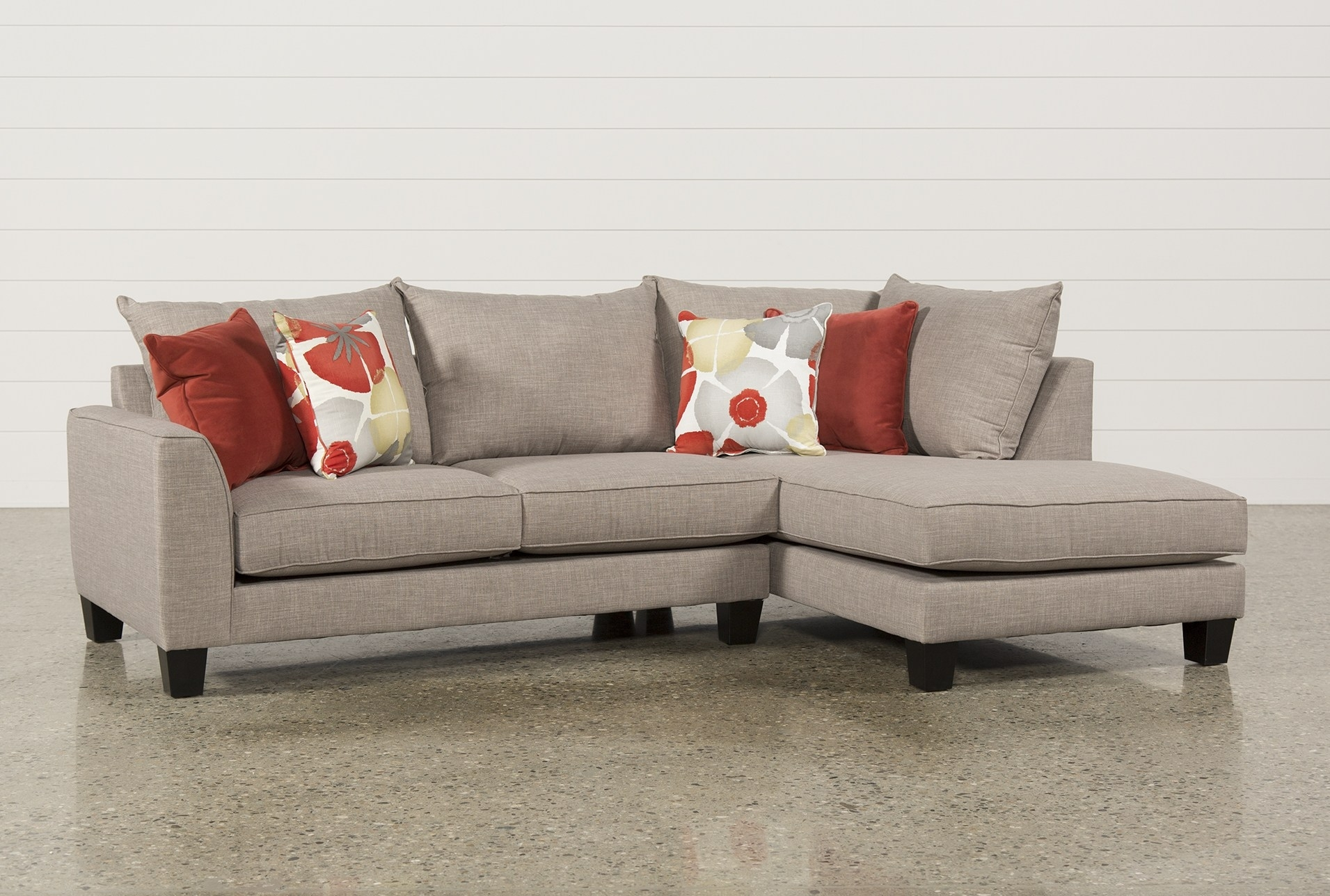 Mcdade Graphite 2 Piece Sectional – Geek Tattoos with regard to Evan 2 Piece Sectionals With Raf Chaise (Image 25 of 30)