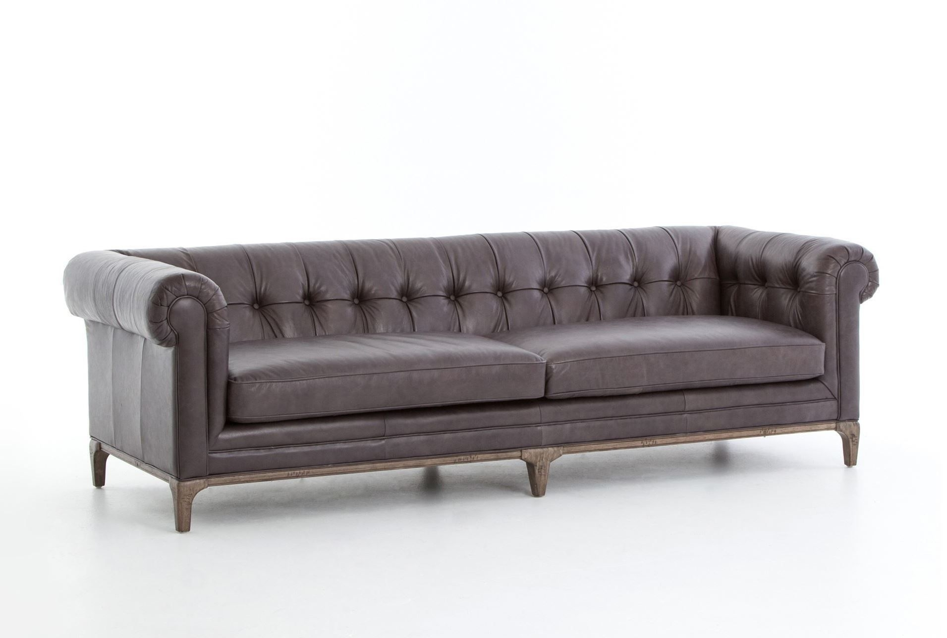 Melanie Gunmetal Sofa | Living Spaces, Living Spaces Furniture And Pertaining To Elm Grande Ii 2 Piece Sectionals (View 7 of 30)