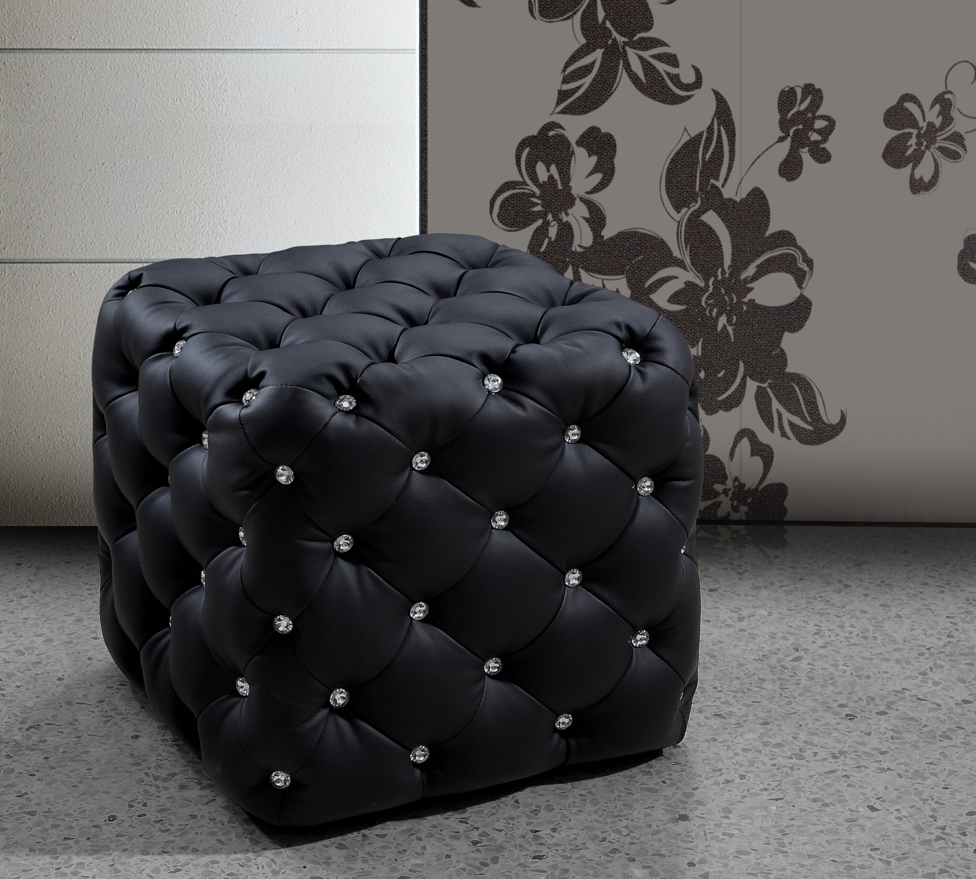 Mercer41 Burton Latimer Cube Ottoman | Wayfair in Burton Leather 3 Piece Sectionals With Ottoman (Image 15 of 30)