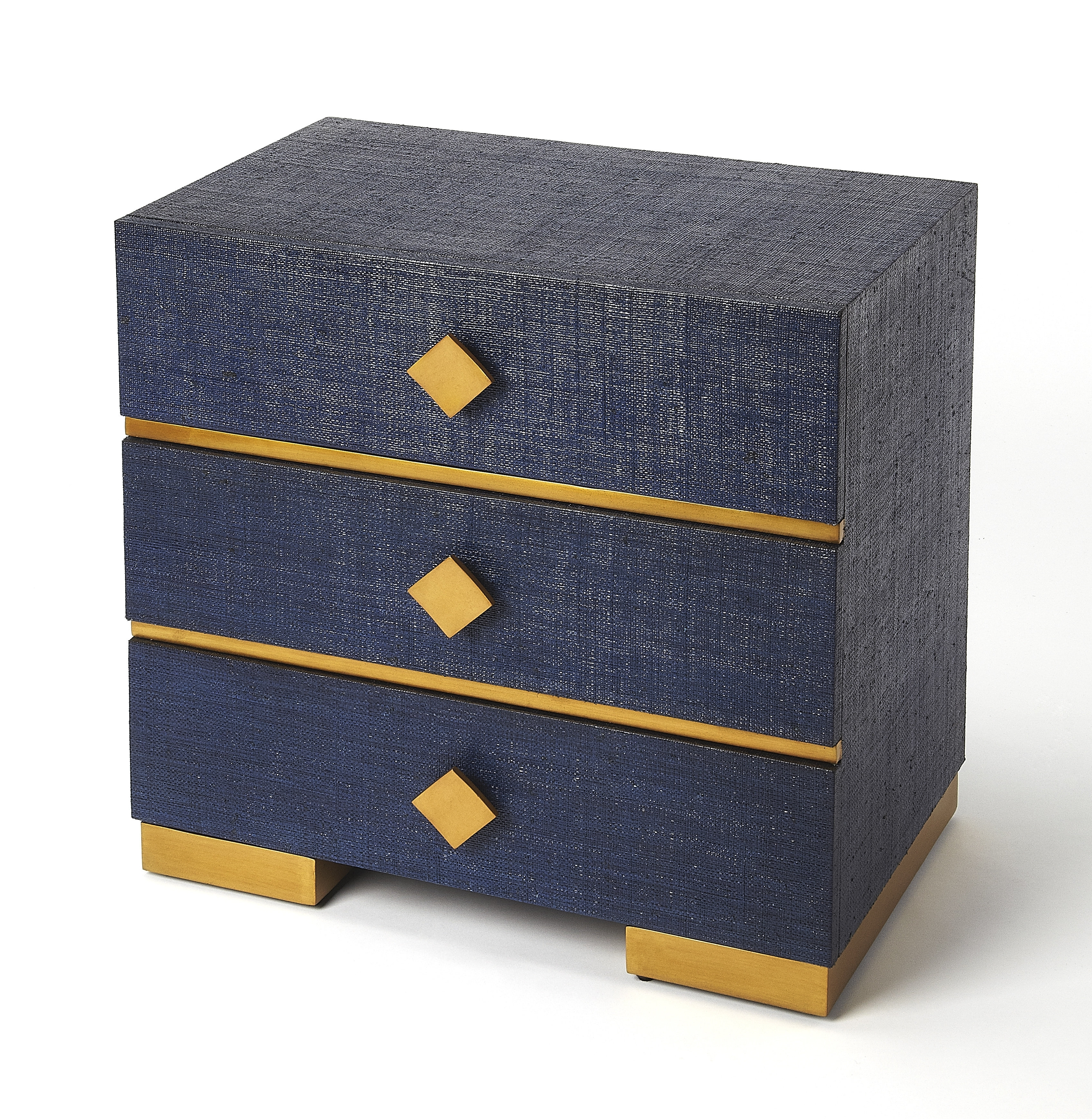 Mercer41 Concourse 3 Drawer Accent Chest | Wayfair in Moraga Live Edge 8 Door Sideboards (Image 23 of 30)