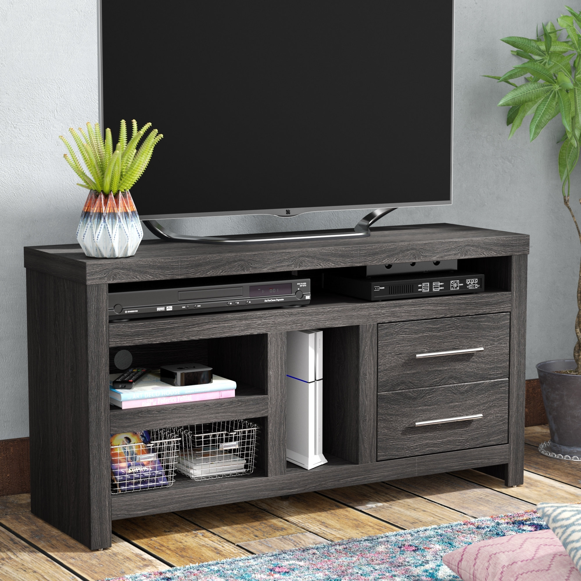 """Mercury Row Armes Tv Stand For Tvs Up To 55"""" & Reviews 