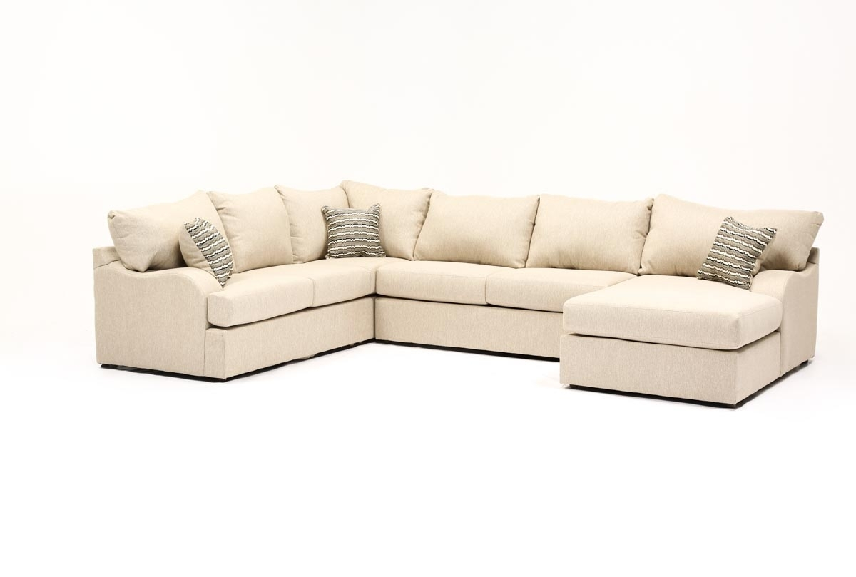 Meyer 3 Piece Sectional W/raf Chaise | Living Spaces inside Meyer 3 Piece Sectionals With Laf Chaise (Image 16 of 30)