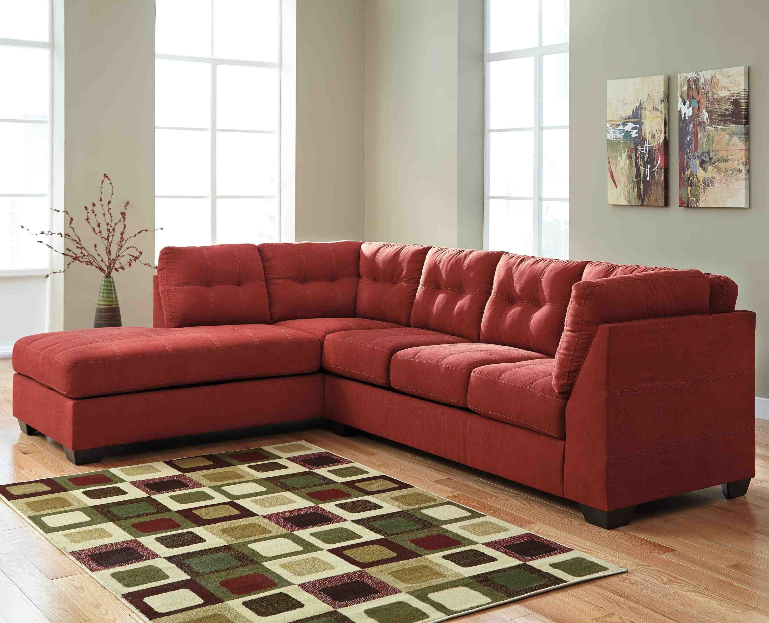 Microfiberctional Sofa With Chaise Amazing Photo Inspirations for Arrowmask 2 Piece Sectionals With Laf Chaise (Image 22 of 30)