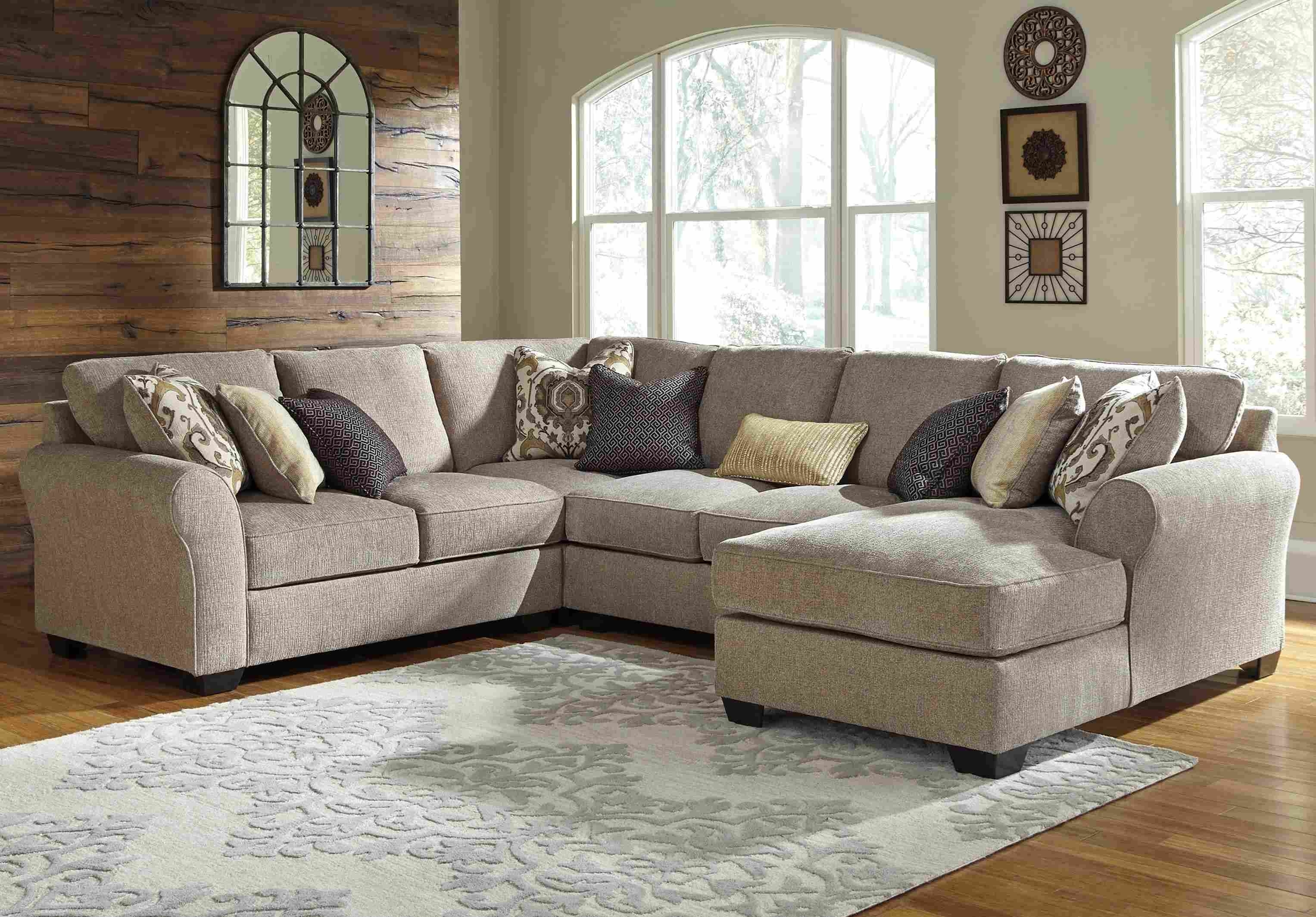 Microfiberctional Sofa With Chaise Amazing Photo Inspirations regarding Arrowmask 2 Piece Sectionals With Laf Chaise (Image 23 of 30)