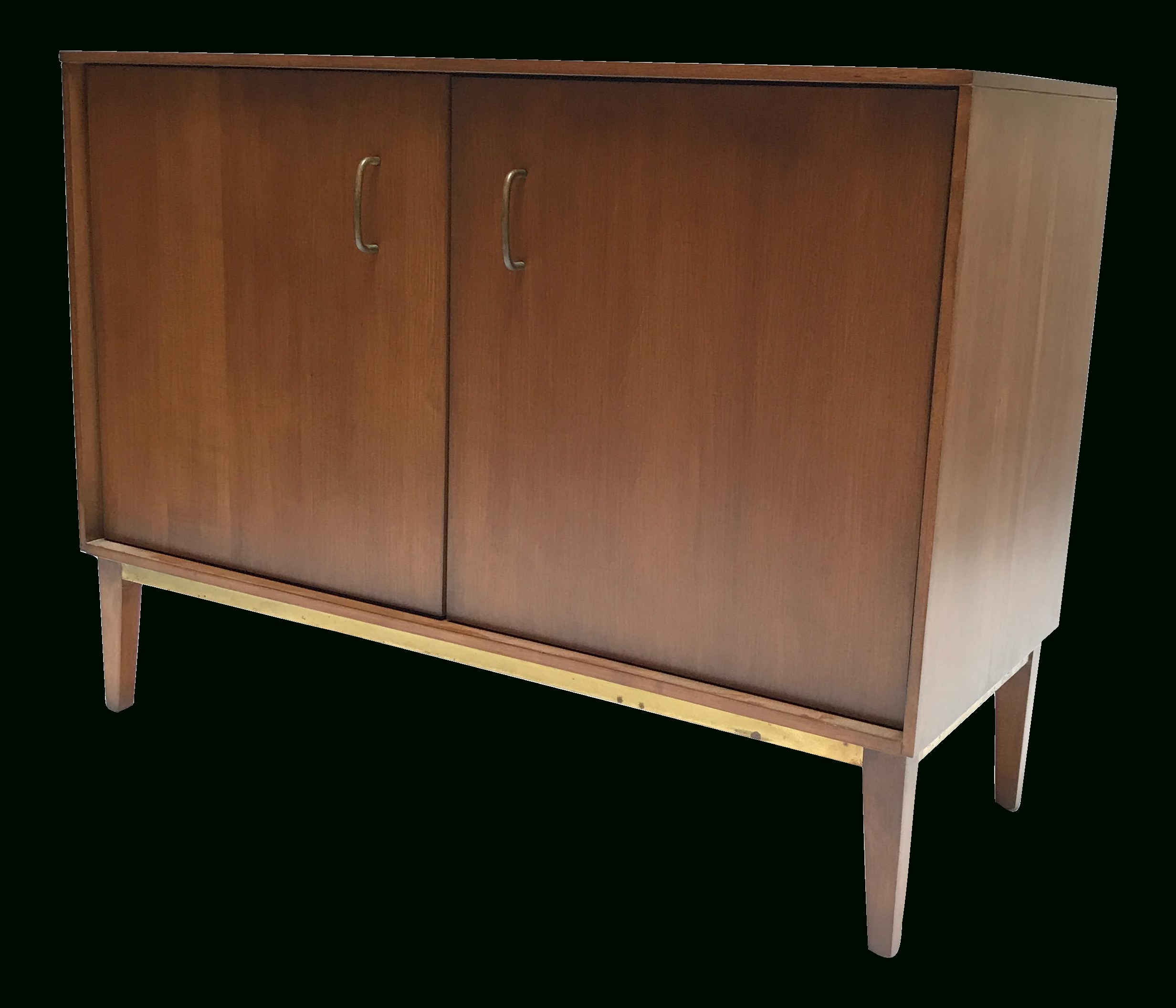 Milo Baughman Buffet Cabinet | Buffet Cabinet, Buffet And Brass Handles intended for Amos Buffet Sideboards (Image 17 of 30)