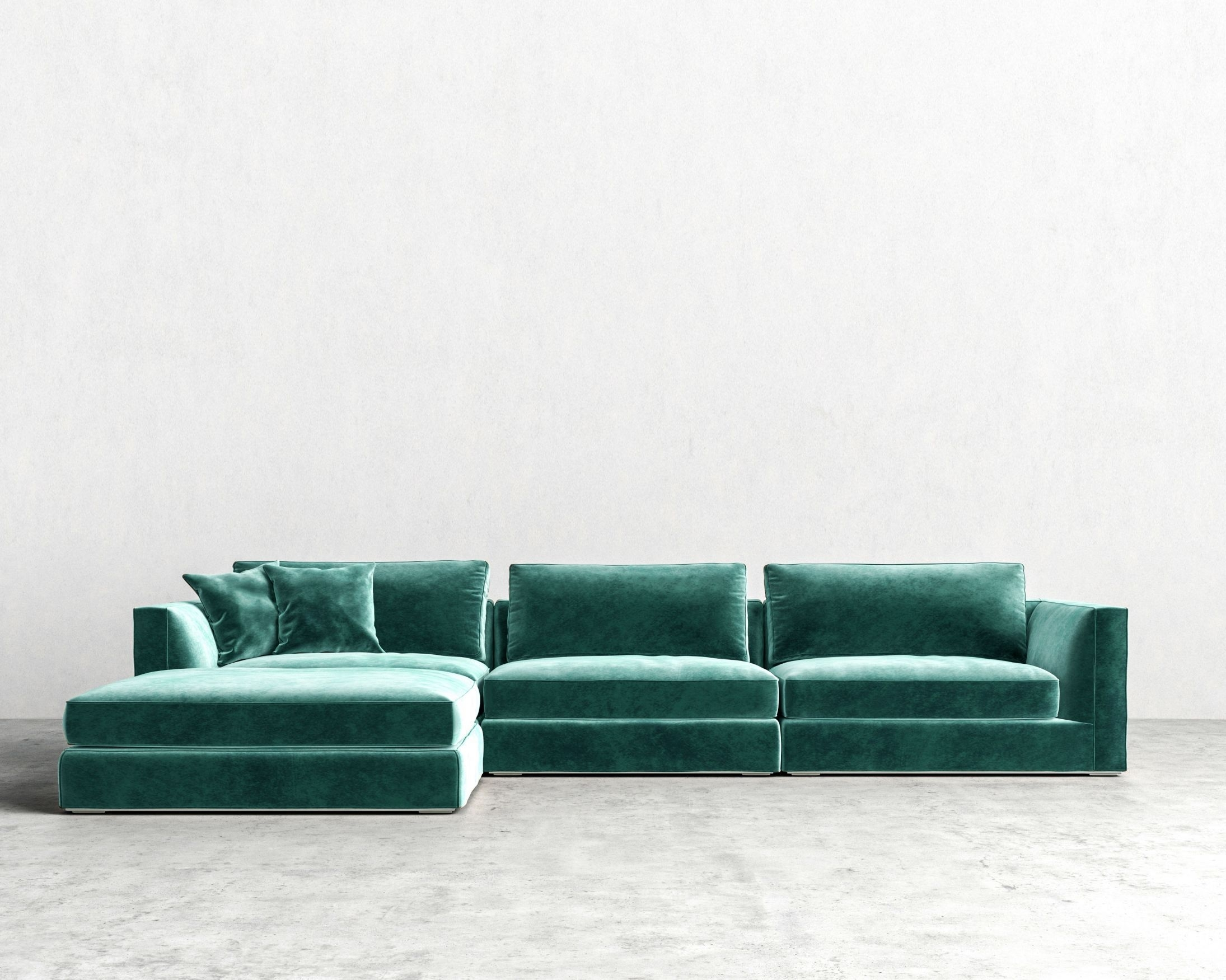 Milo Modular Sectional | Rove Concepts Sandro Mid-Century Furniture pertaining to Nico Grey Sectionals With Left Facing Storage Chaise (Image 14 of 30)