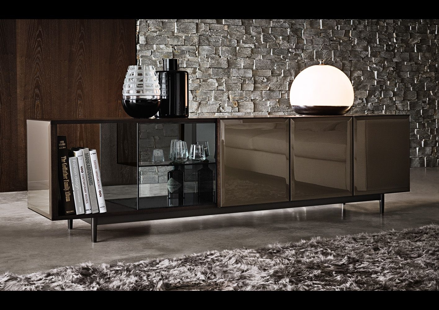 Minotti Ipad - Bibliotheques Et Meubles - Fr | Morrison | Minotti intended for Leven Wine Sideboards (Image 18 of 30)