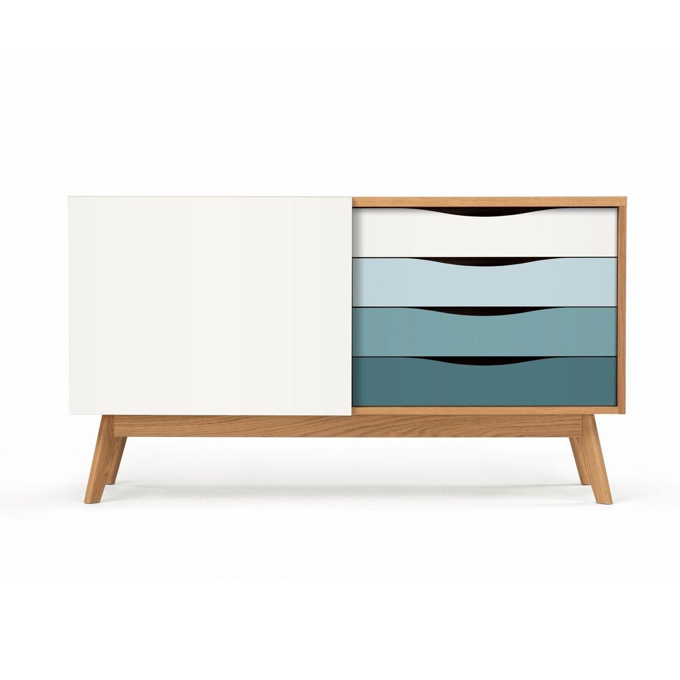 Møbla | Sideboard Avonwoodman – Møbla | Designer-Möbel throughout Corrugated Natural 4-Drawer Sideboards (Image 23 of 30)