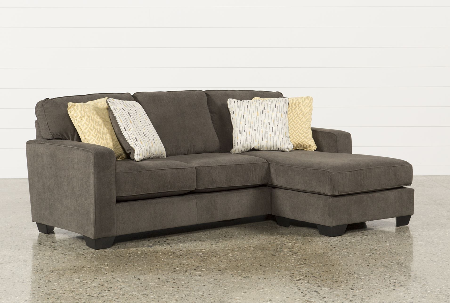Modern Chesterfield Sofa Distressed Table Ashley Benton Blu Dot throughout Benton 4 Piece Sectionals (Image 16 of 30)