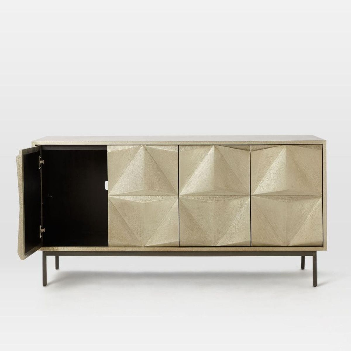 Modern Furniture, Home Decor & Home Accessories | West Elm within Geo Capiz Sideboards (Image 25 of 30)