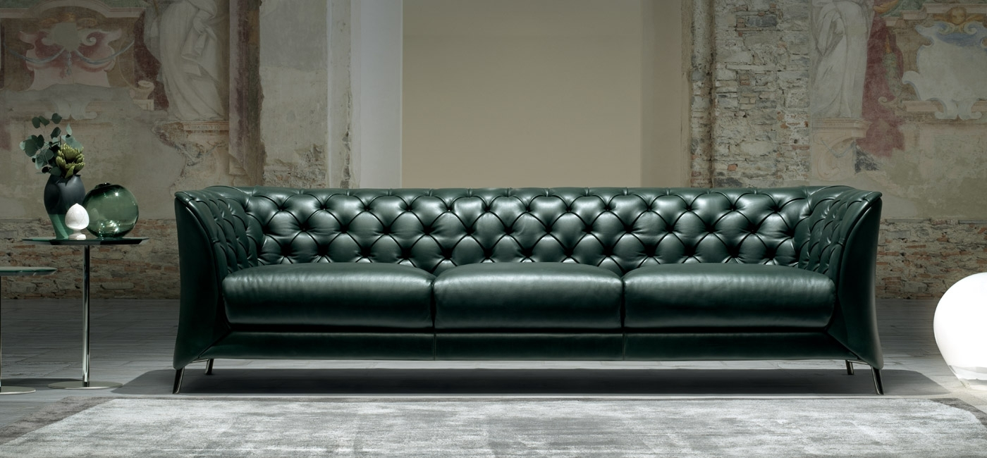 Modern Luxury Sofas | Natuzzi Italia with London Optical Reversible Sofa Chaise Sectionals (Image 17 of 30)