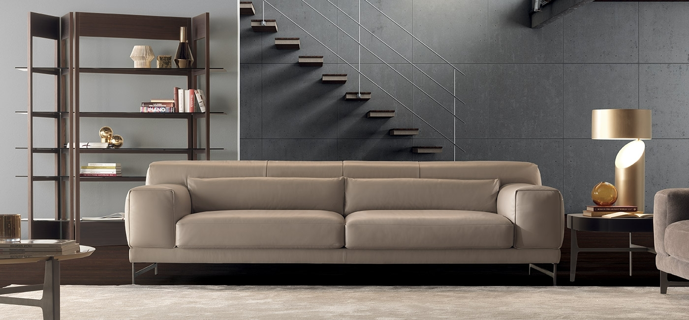Modern Luxury Sofas | Natuzzi Italia with regard to London Optical Reversible Sofa Chaise Sectionals (Image 18 of 30)