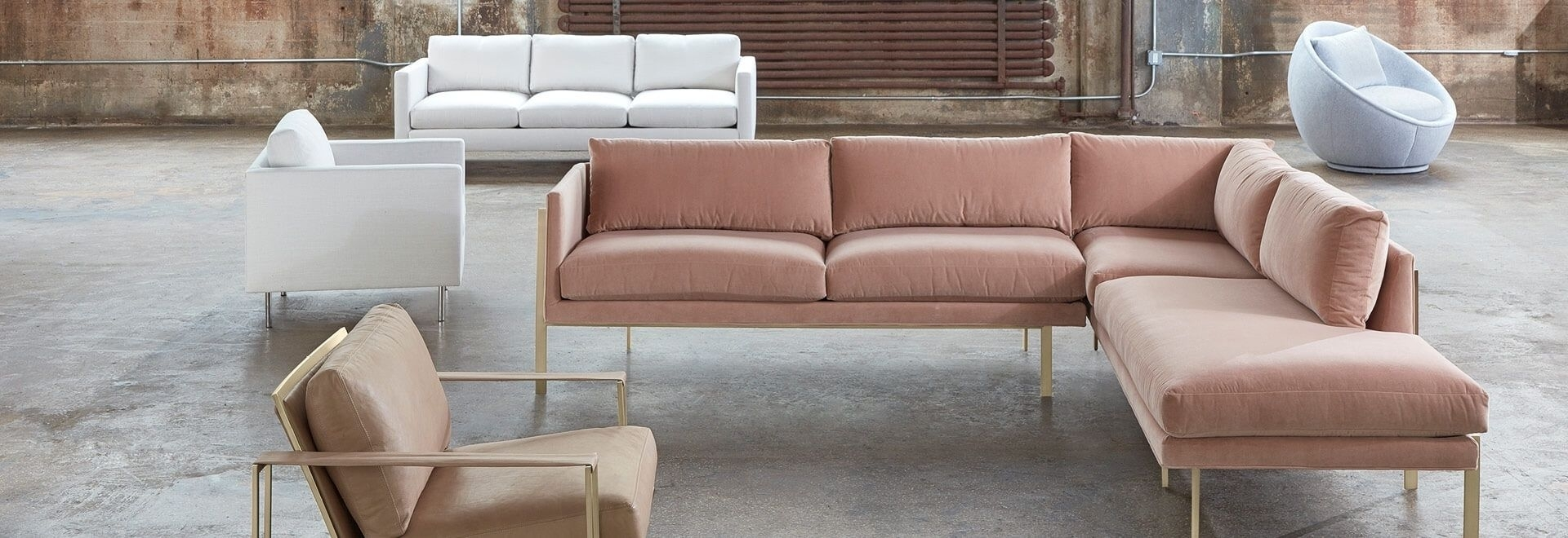 Modern Sectional Sofas For Apartments At Abc Home & Carpet in Harper Down 3 Piece Sectionals (Image 19 of 30)