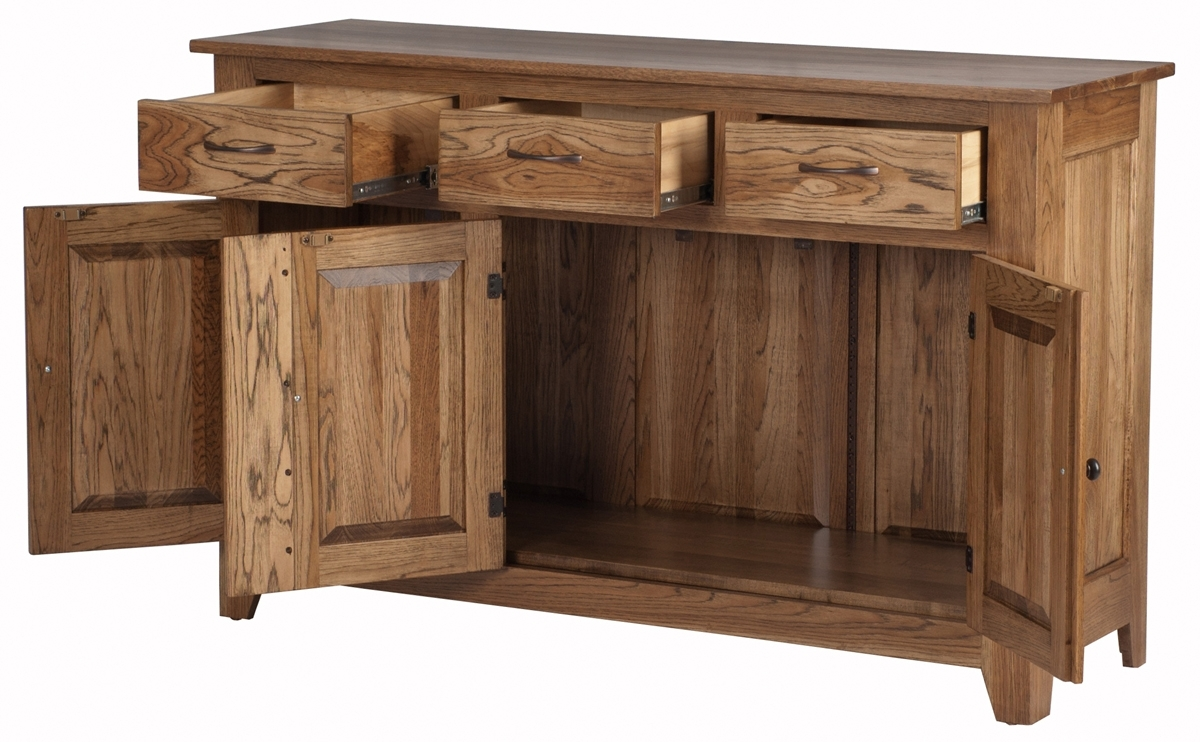 Modern Shaker Buffets | Buffet In The Modern Shaker Style regarding Calhoun Sideboards (Image 13 of 30)