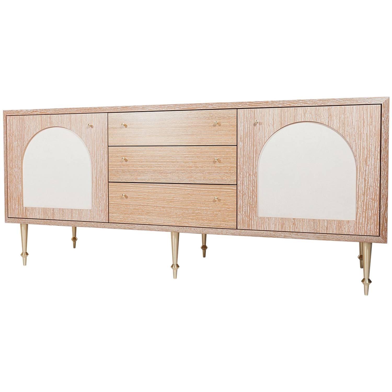 Modern Sideboards - 320 For Sale At 1Stdibs inside Corrugated Natural 6-Door Sideboards (Image 18 of 30)