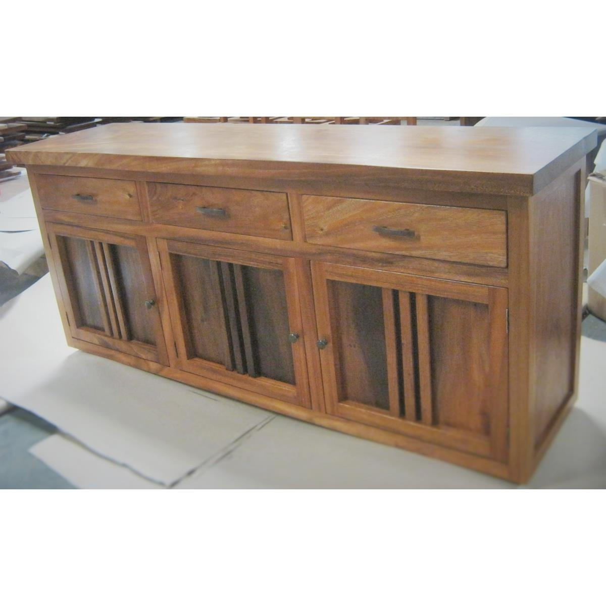 Monsoon Wood   Dining Buffet At Elementfinefurniture Hand Made inside Natural Oak Wood 78 Inch Sideboards (Image 10 of 30)