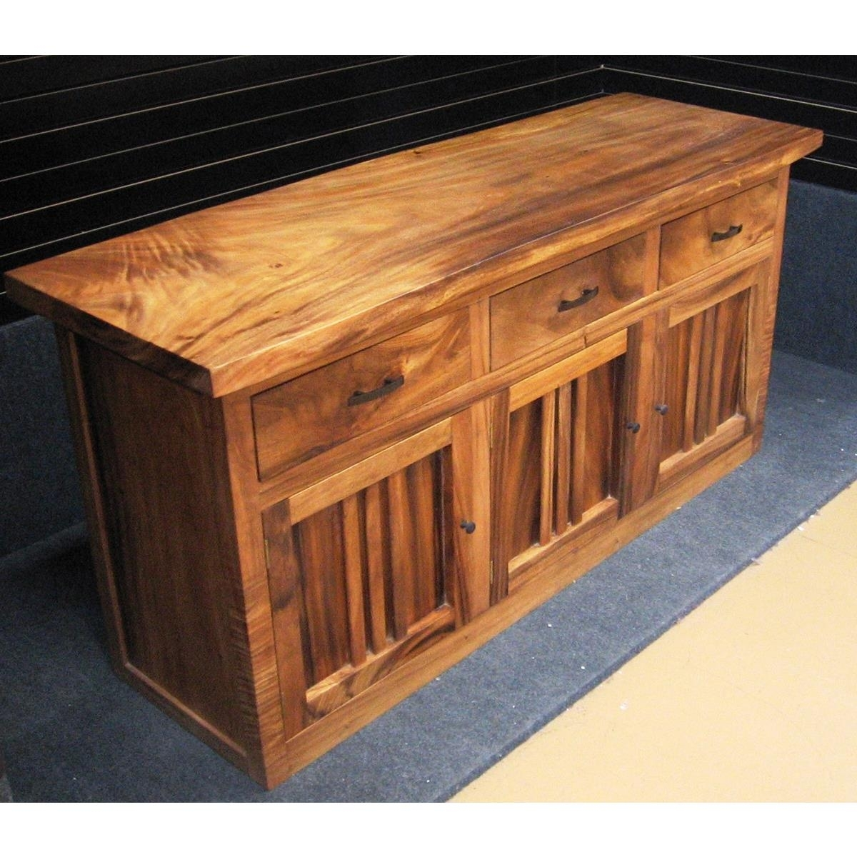 Monsoon Wood   Dining Buffet At Elementfinefurniture Hand Made with Natural Oak Wood 78 Inch Sideboards (Image 11 of 30)