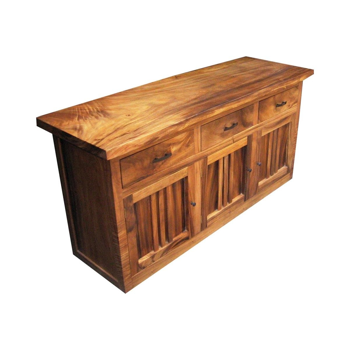 Monsoon Wood   Dining Buffet At Elementfinefurniture Hand Made within Natural Oak Wood 78 Inch Sideboards (Image 12 of 30)