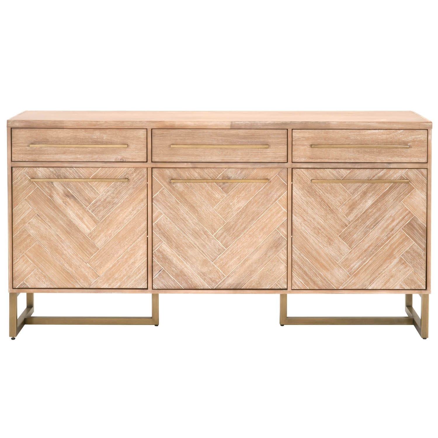 Mosaic Media Sideboard in Parquet Sideboards (Image 14 of 30)