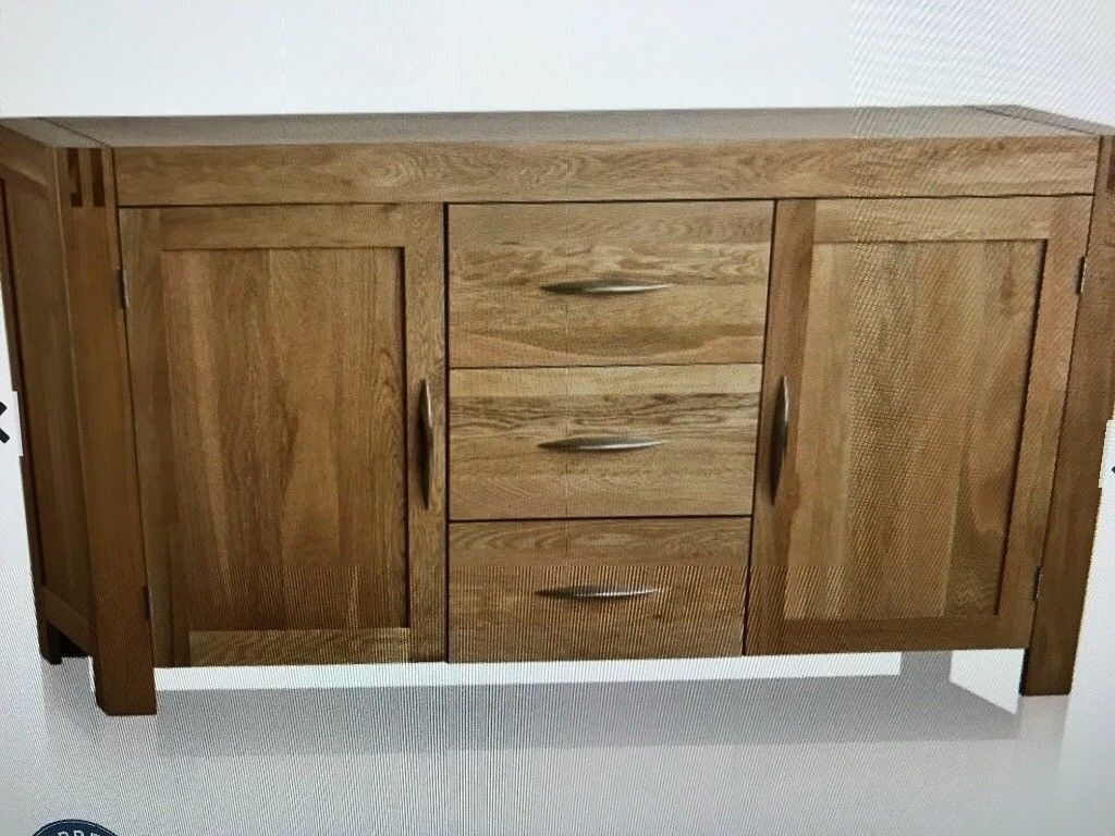 Natural Solid Oak Large Sideboard. | In Wirral, Merseyside | Gumtree for Natural South Pine Sideboards (Image 13 of 30)