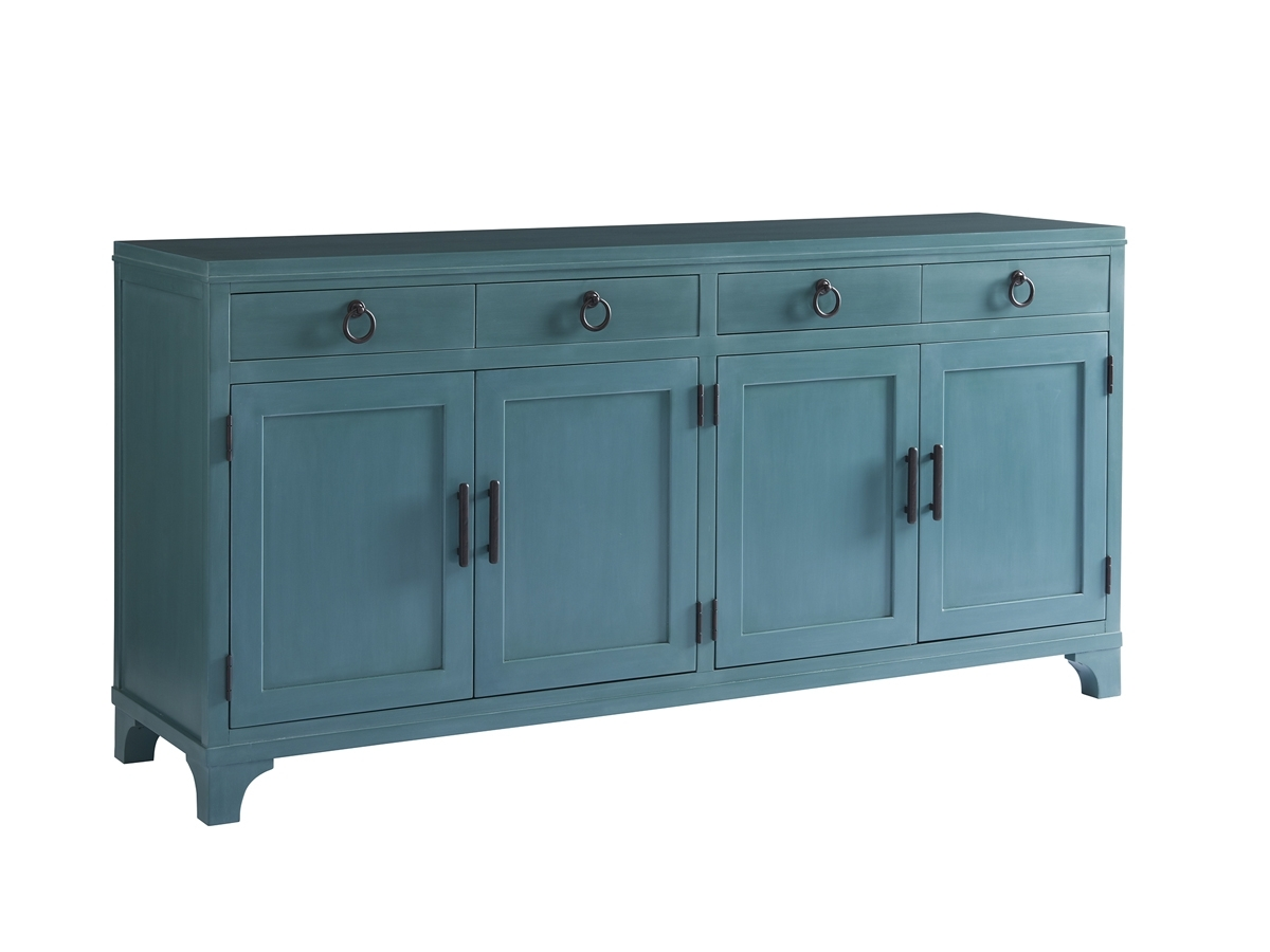 Newport Bayside Buffet | Lexington Home Brands throughout Natural Oak Wood 78 Inch Sideboards (Image 15 of 30)