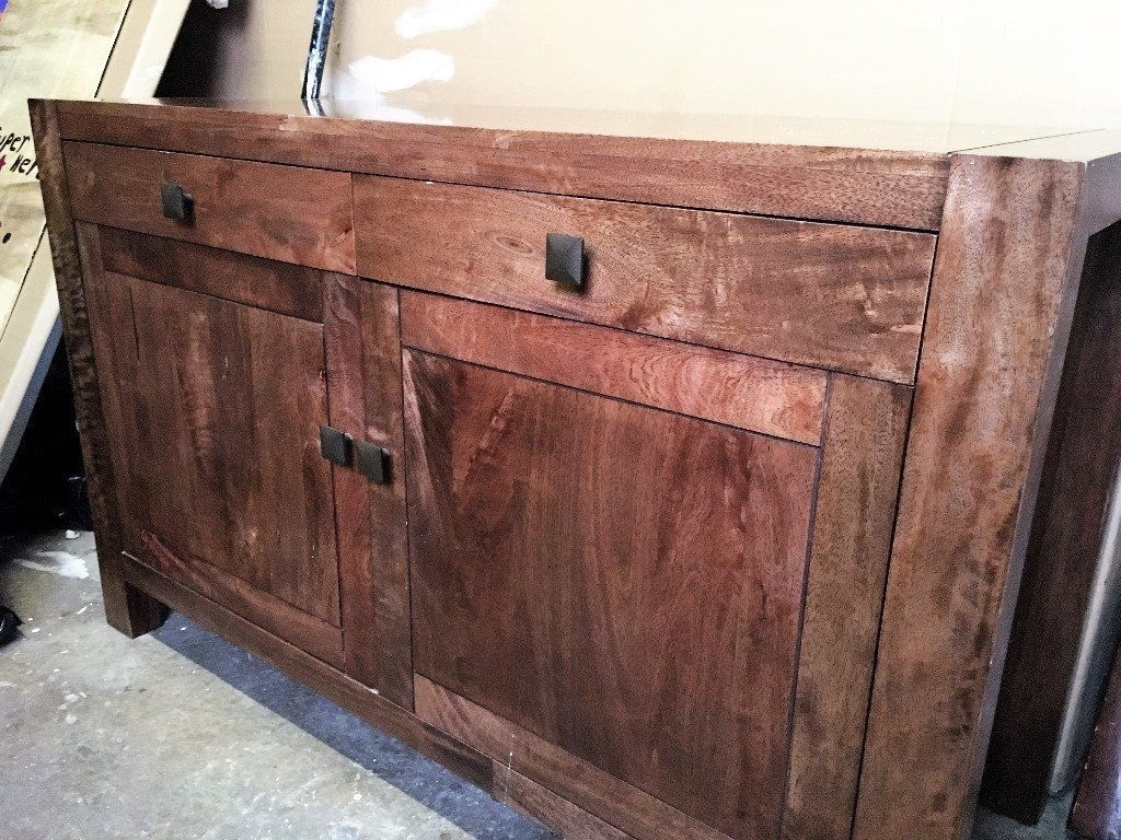 Next Dakota Sideboard - 2 Door / 2 Drawer Mango Wood | In Croft in Mango Wood 2-Door/2-Drawer Sideboards (Image 21 of 30)
