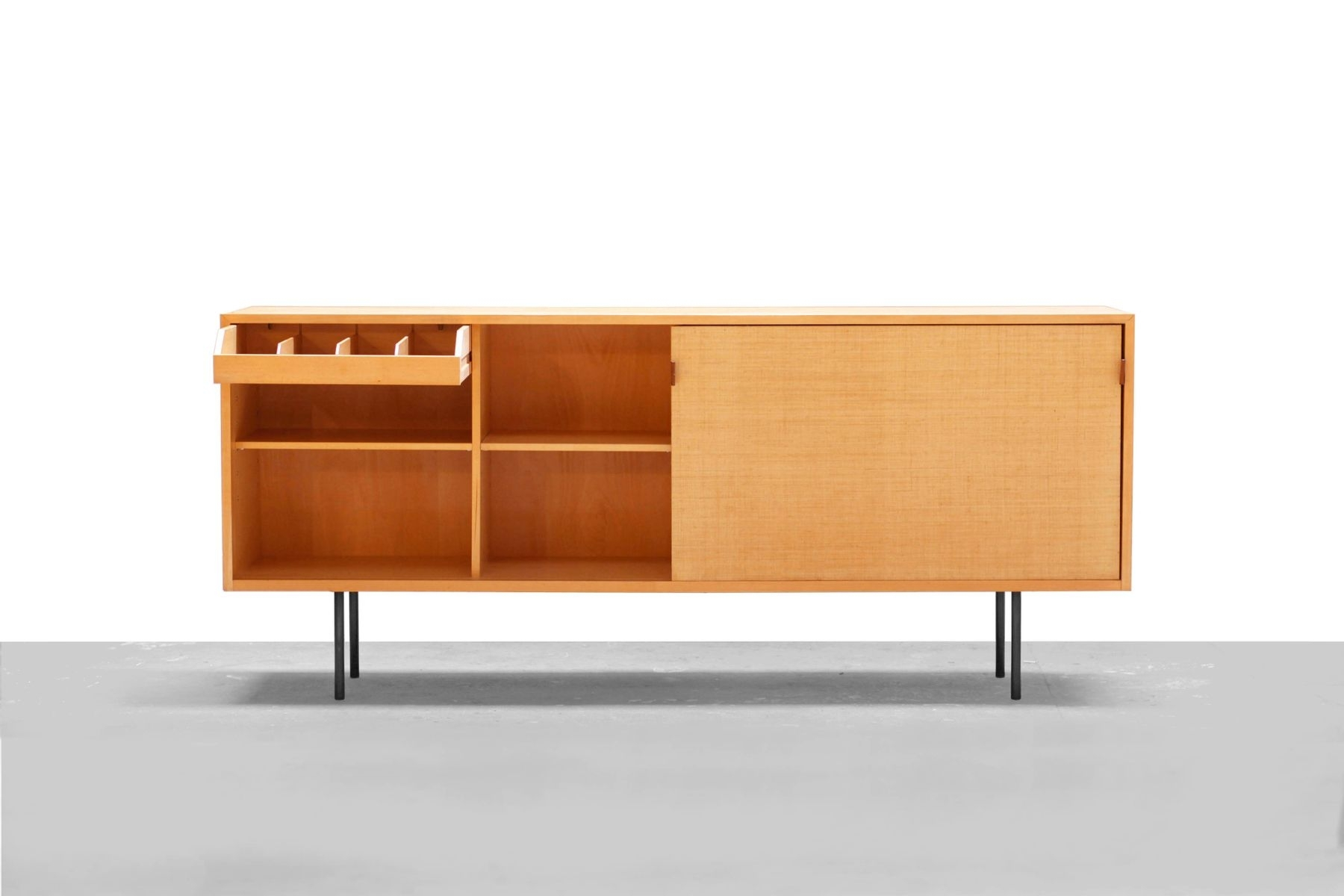 No. 118 Sideboardflorence Knoll For Knoll International, 1950S regarding Girard 4 Door Sideboards (Image 17 of 30)