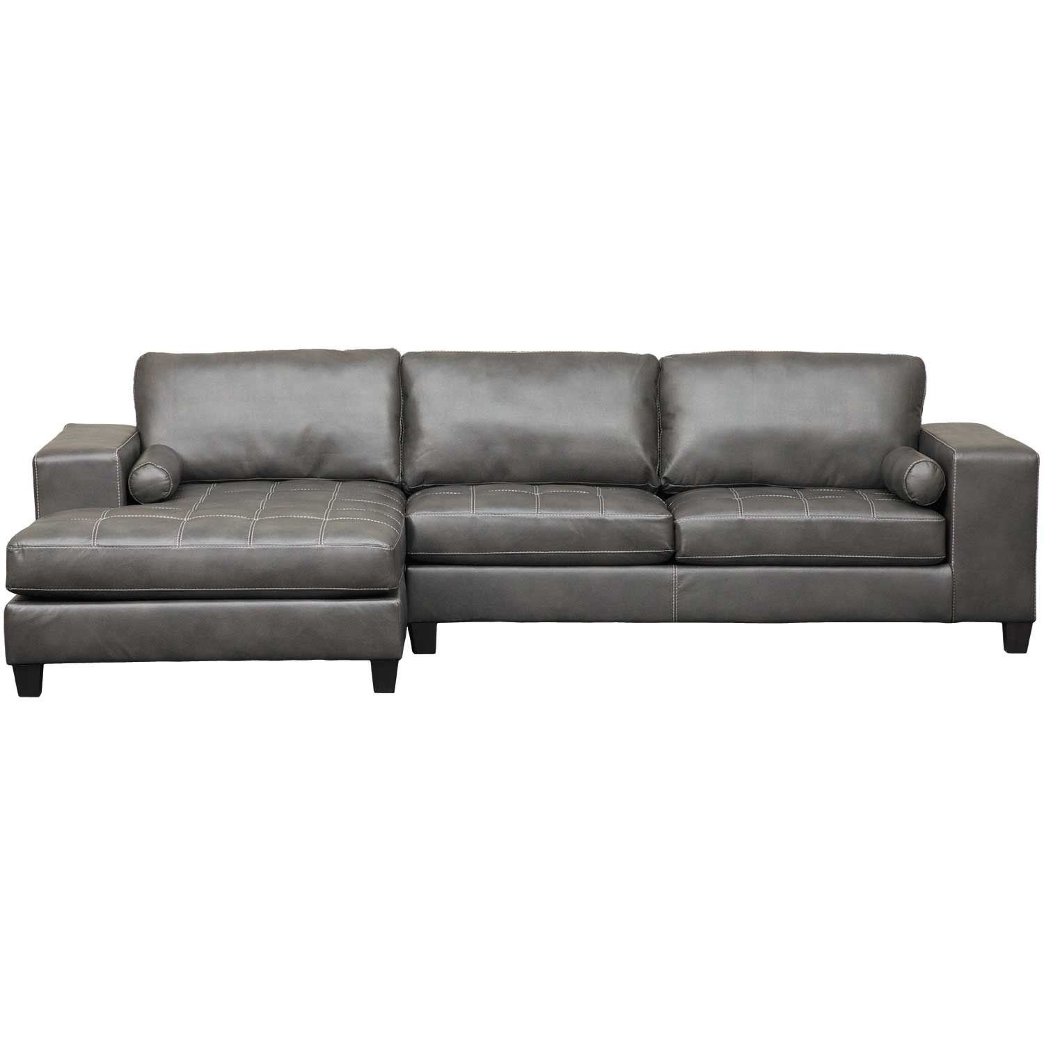 Nokomis 2 Piece Sectional With Laf Chaise | 8770116/8770167 | Ashley pertaining to Cosmos Grey 2 Piece Sectionals With Laf Chaise (Image 17 of 30)