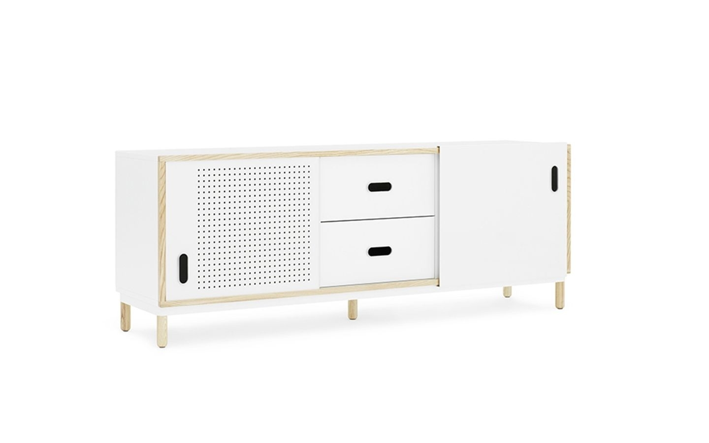 Norman Copenhagen Kabino Sideboard With Drawers | Furniture Throughout Girard 4 Door Sideboards (Photo 20 of 30)