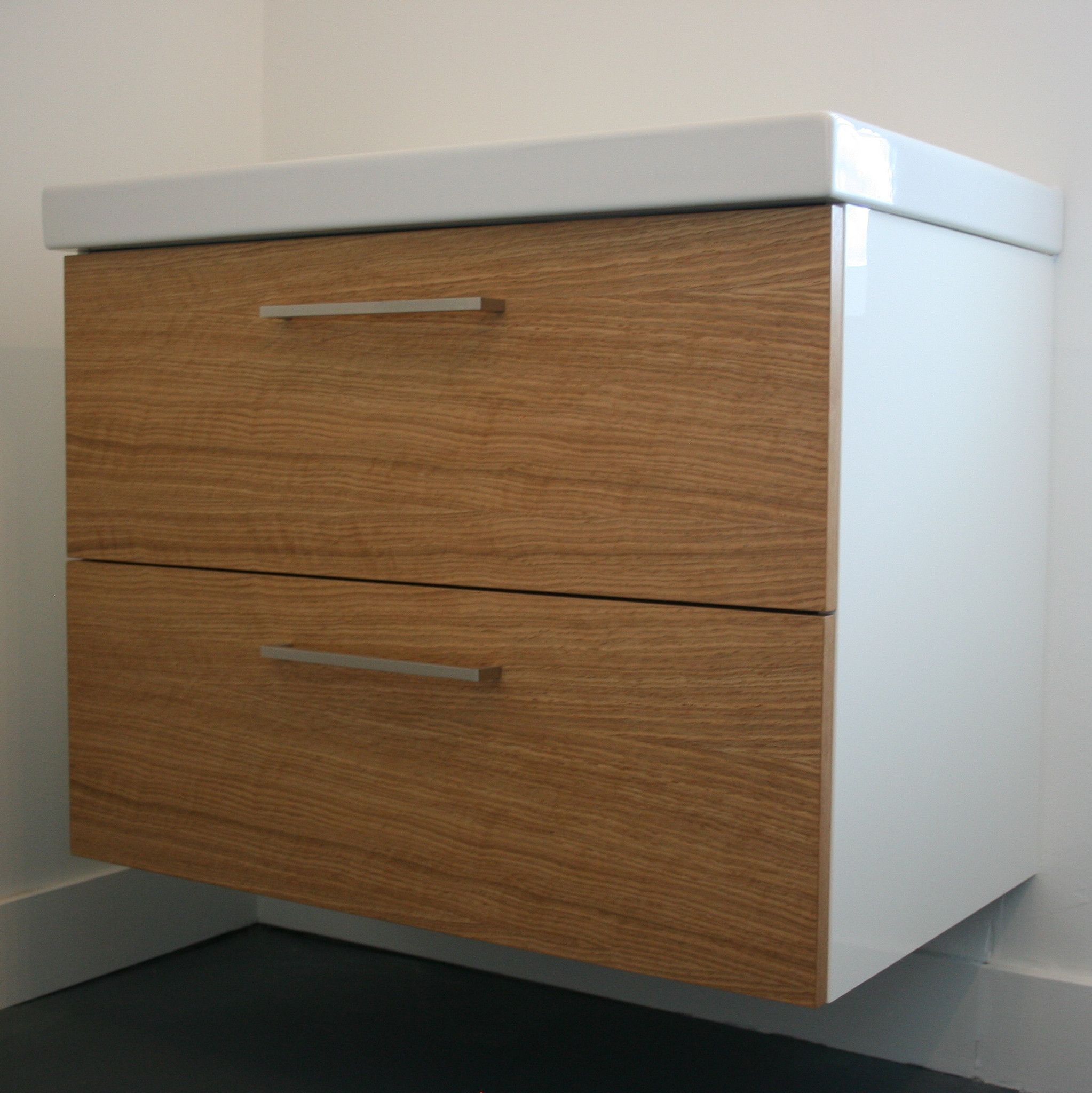 Oak Godmorgon – Custom Fronts For Ikea Cabinets | B A T H R O O M S Inside Cass 2 Door Sideboards (View 12 of 30)