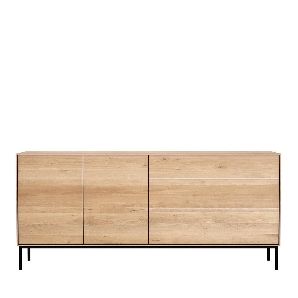 Oak Whitebird Sideboard - Ethnicraft with regard to 3-Drawer/2-Door Sideboards (Image 20 of 30)