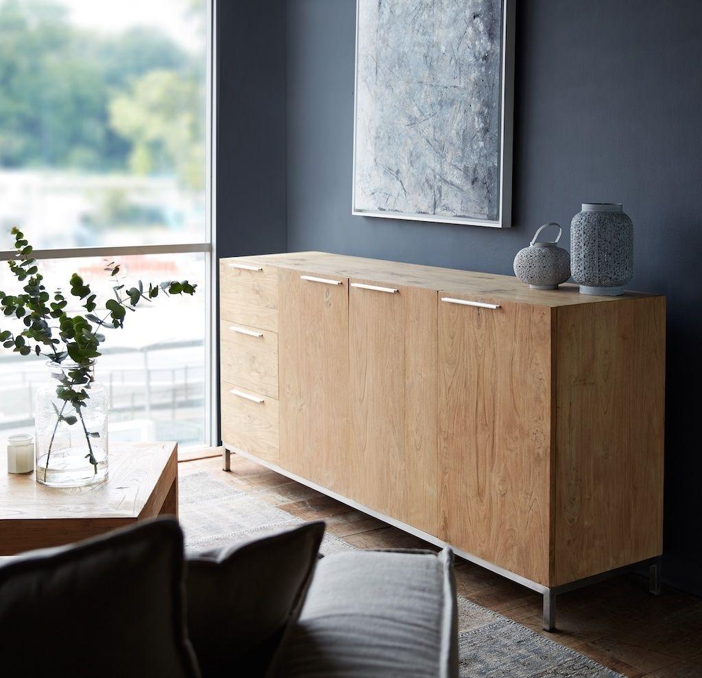 Originals Furniture - L'atelier Havelock 3 Doors, 3 Drawers Teak intended for White Wash 3-Door 3-Drawer Sideboards (Image 19 of 30)