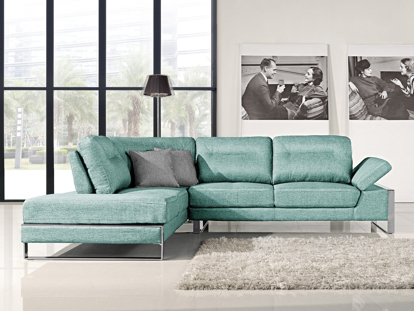 Orren Ellis Kealy Sofa Reclining Sectional | Wayfair throughout Collins Sofa Sectionals With Reversible Chaise (Image 21 of 30)