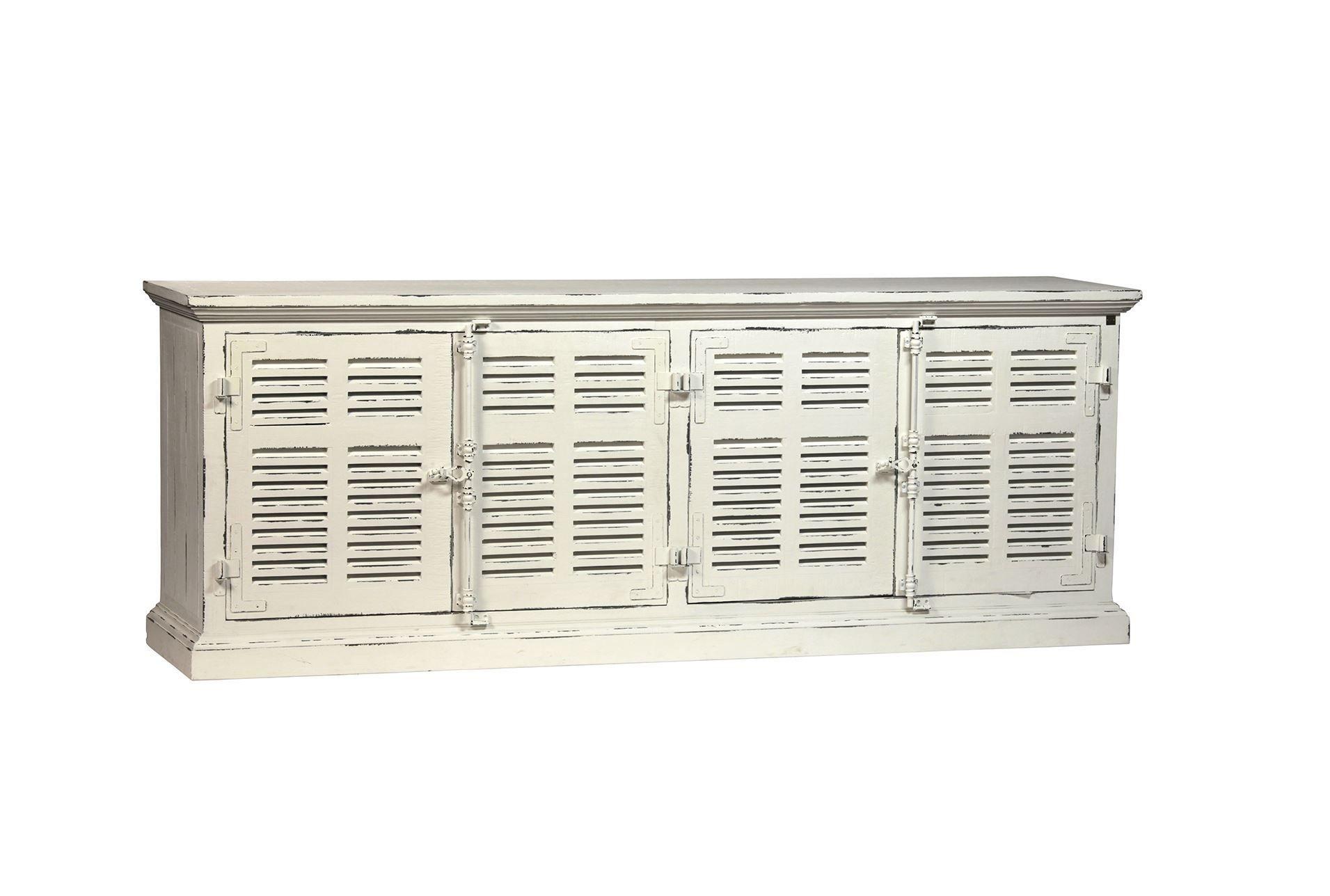 Otb Frozen White Finish Sideboard - Signature | Furniture | Pinterest regarding Burn Tan Finish 2-Door Sideboards (Image 19 of 30)
