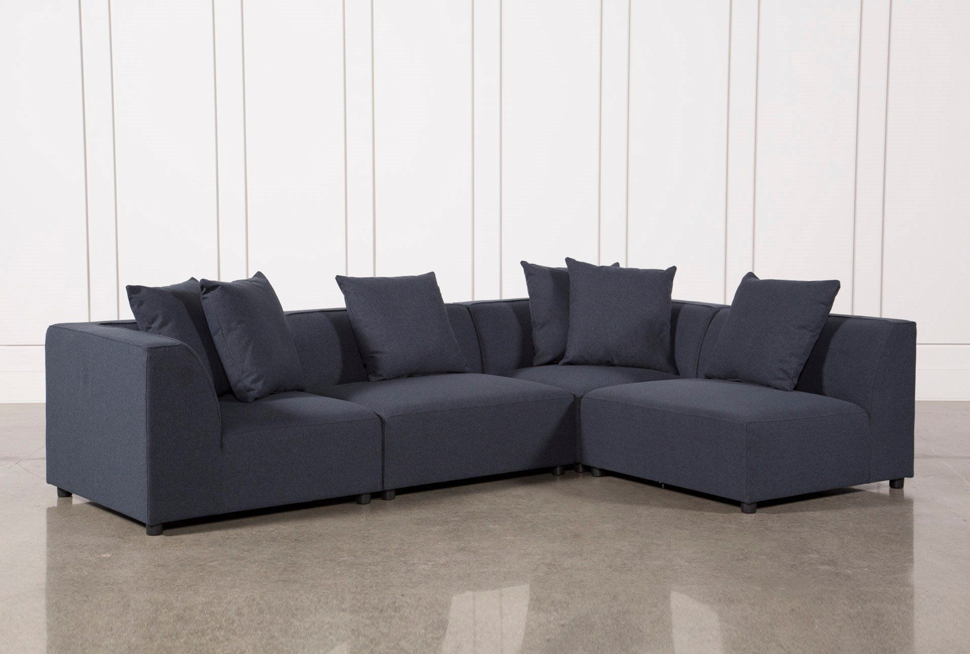 Our Clayton 4-Piece Sectional Allows You To Enjoy An Ultra-Modern inside Aidan 4 Piece Sectionals (Image 22 of 30)