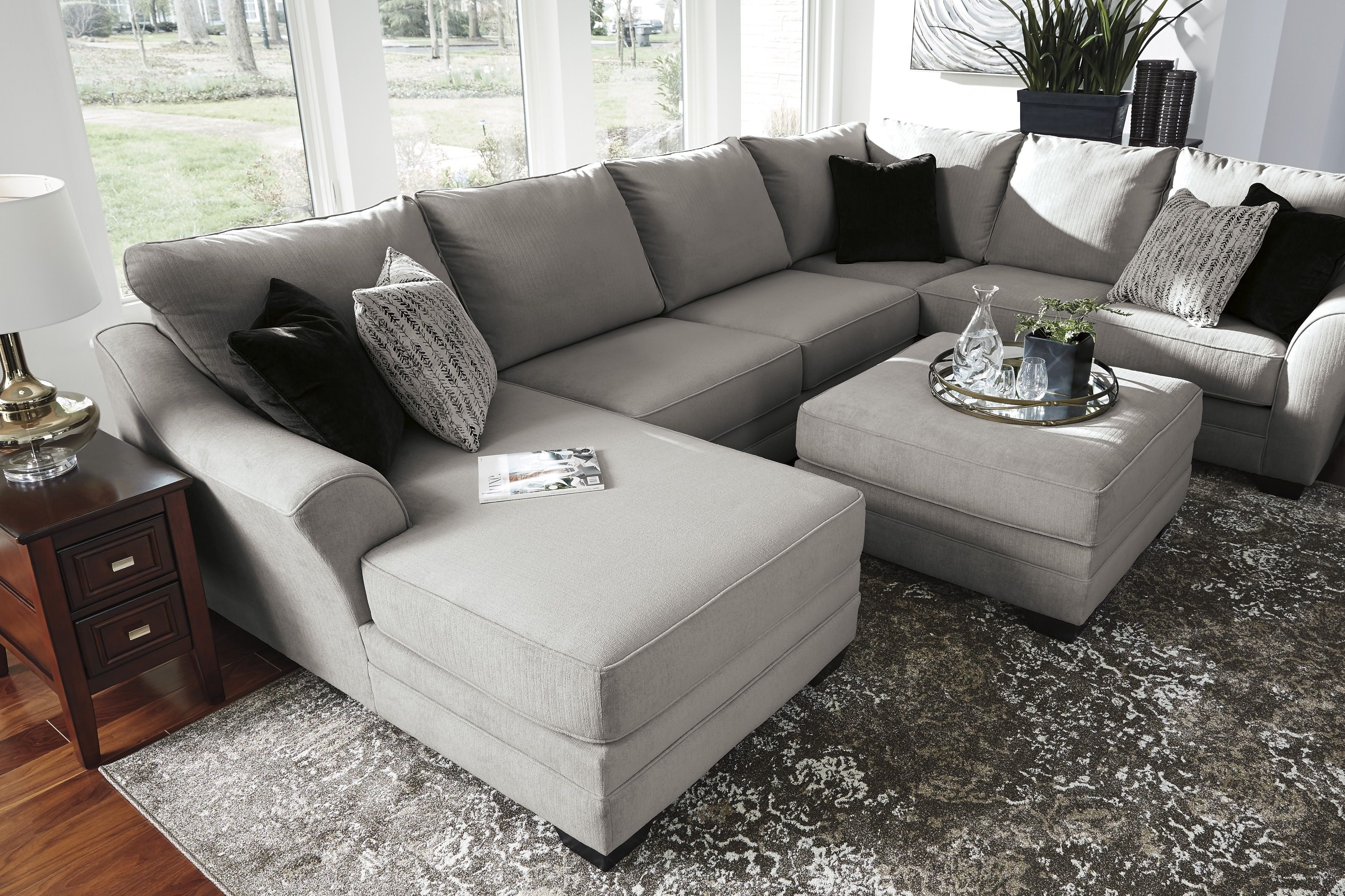 Palempor 3 Piece Laf Sectional In 2018 | Home Is Where The Heart Is Intended For Norfolk Grey 6 Piece Sectionals With Raf Chaise (Photo 23 of 30)