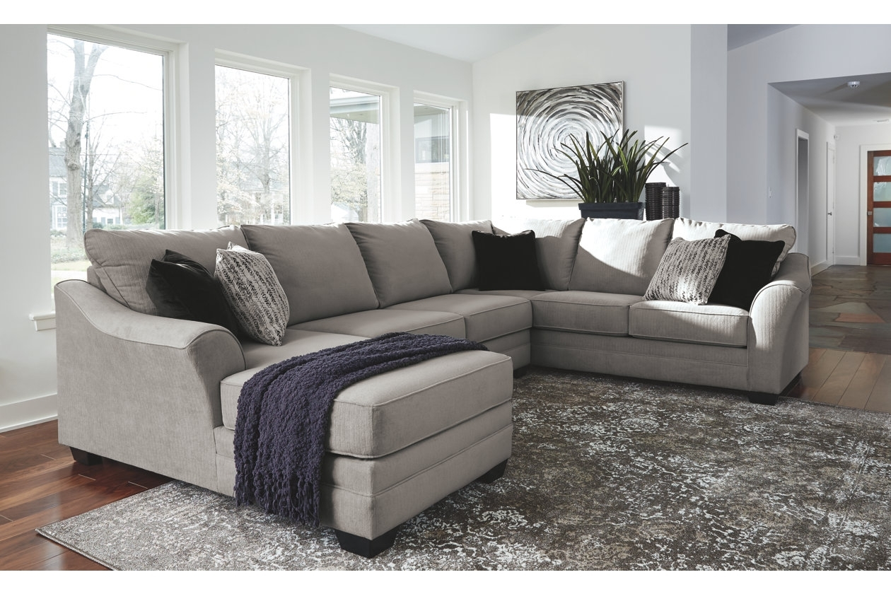 Palempor 3 Piece Sectional | Ashley Furniture Homestore | Boston Pertaining To Benton 4 Piece Sectionals (Photo 11 of 30)