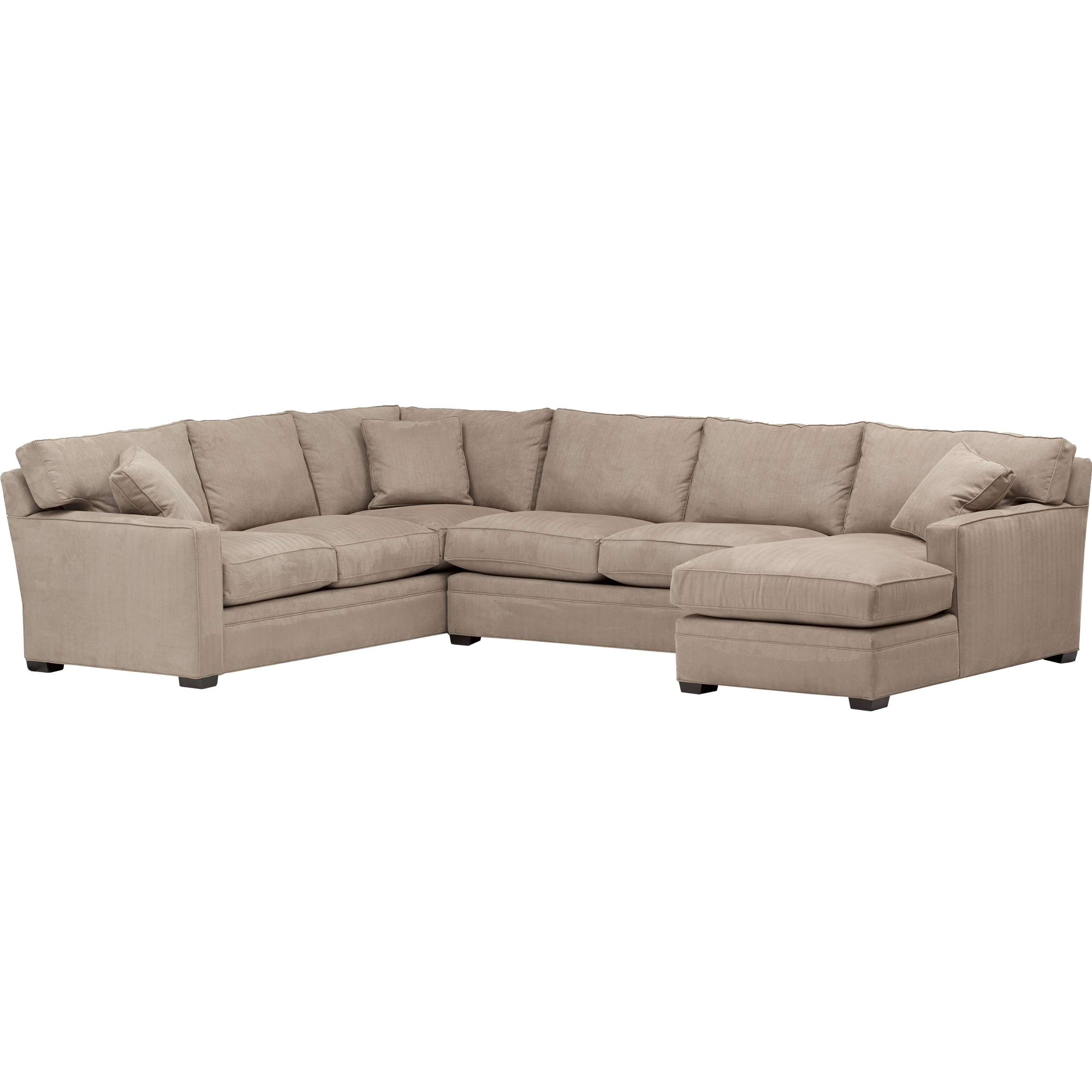 Parker Sectional, Dial Otter With Regard To Glamour Ii 3 Piece Sectionals (Photo 9 of 30)