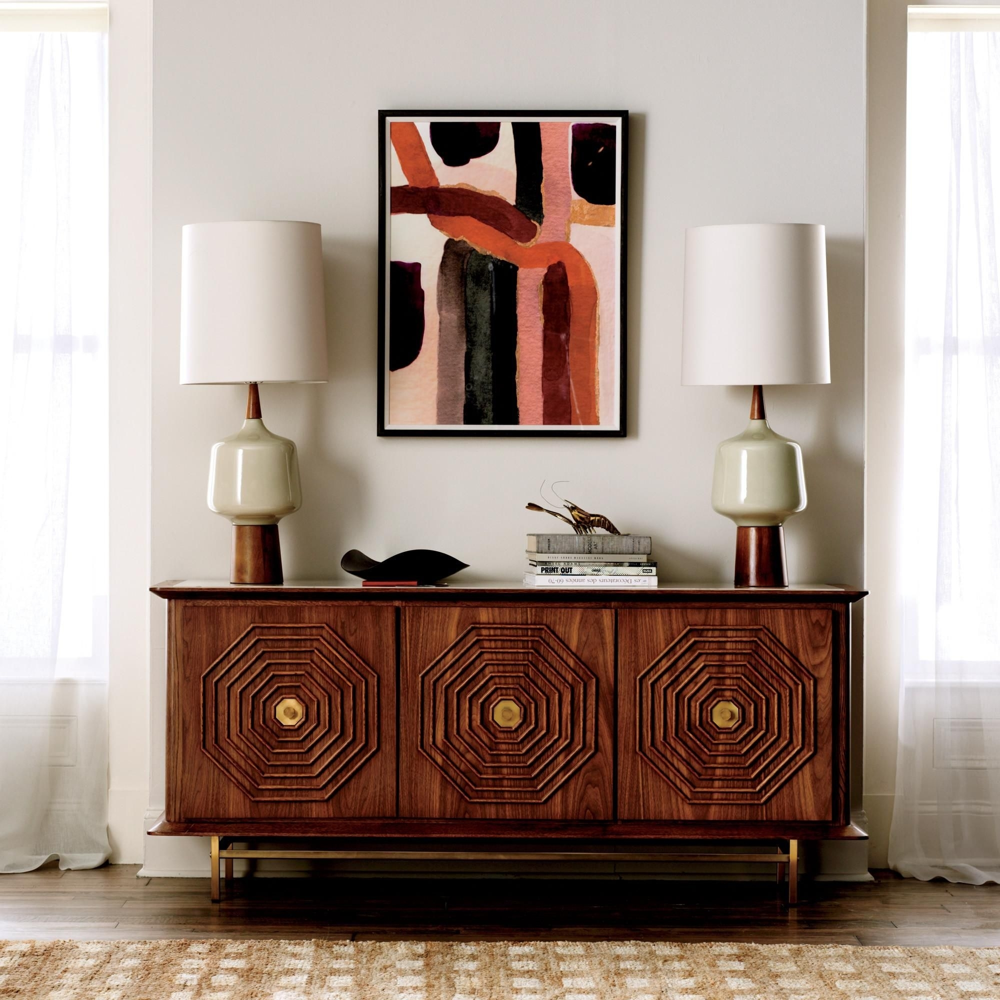 Parker Sideboard | Our Three-Door Parker Sideboard Adds Glamour And throughout Calhoun Sideboards (Image 16 of 30)