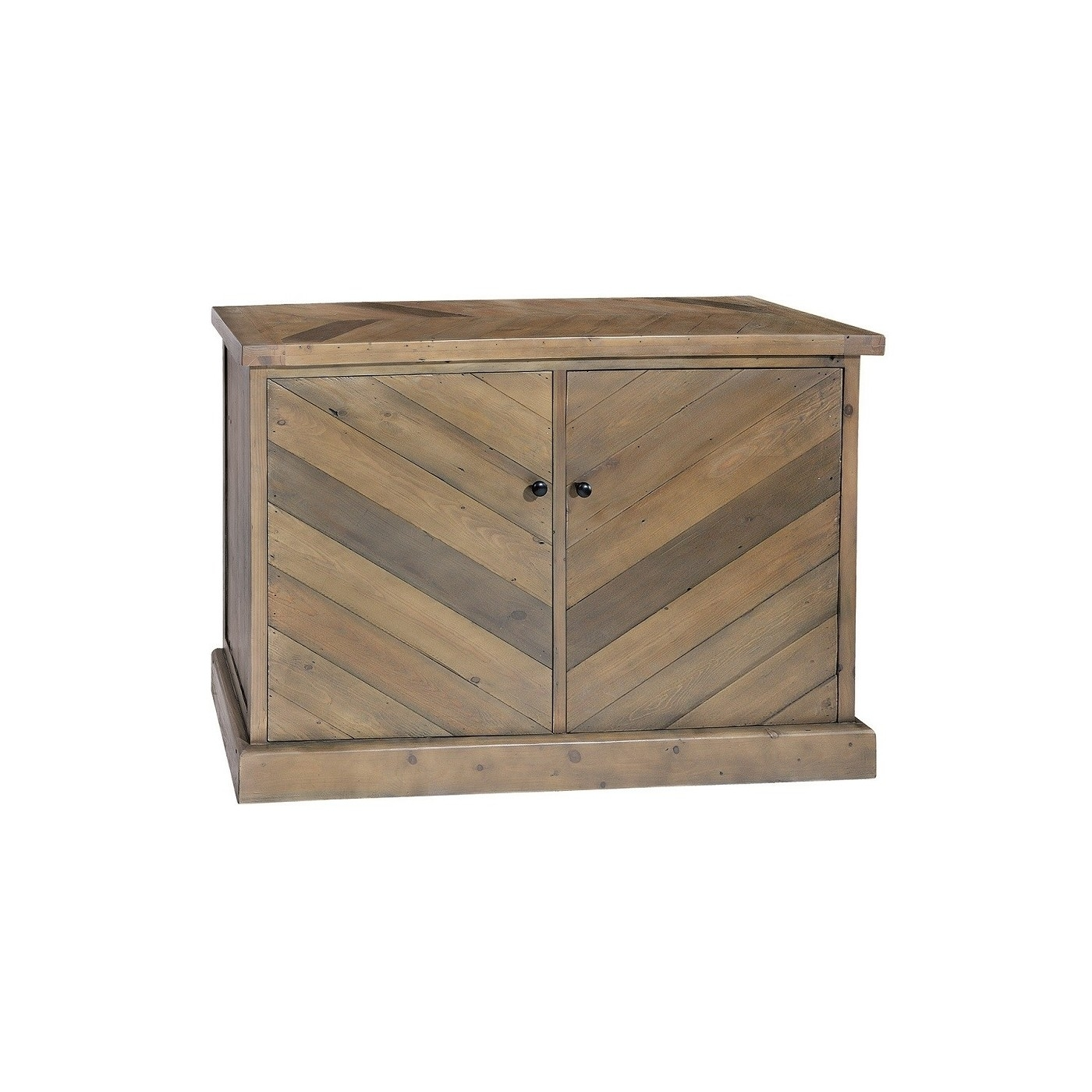 Parquet Reclaimed Pine Small Sideboard | Bedford within Parquet Sideboards (Image 18 of 30)