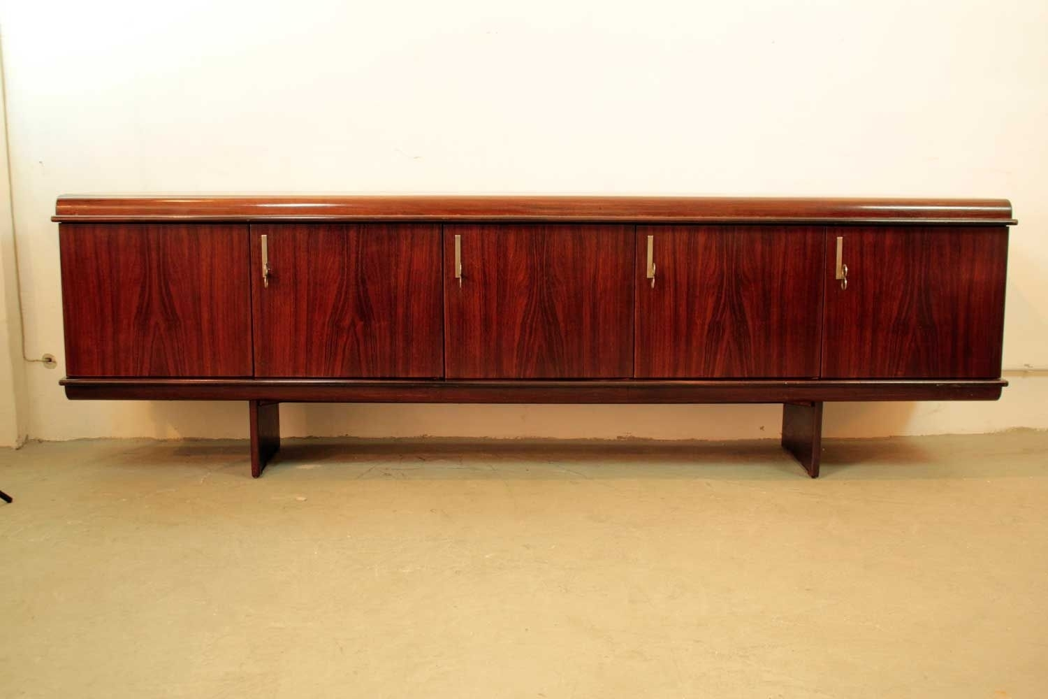 Pellicano Sideboardvittorio Introini For Sormani, 1970S For Sale in Rossi Large Sideboards (Image 16 of 30)