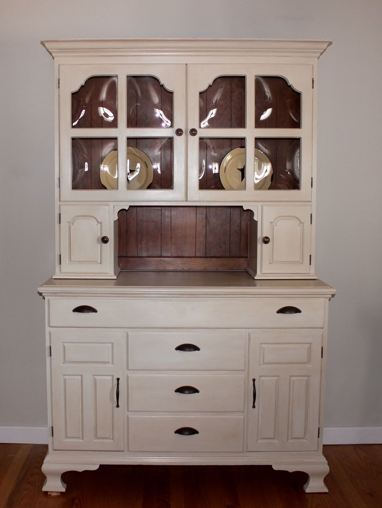 Pennsylvania House Hutch Given A New Look. | Repurposed Furniture Inside Cass 2 Door Sideboards (Photo 24 of 30)