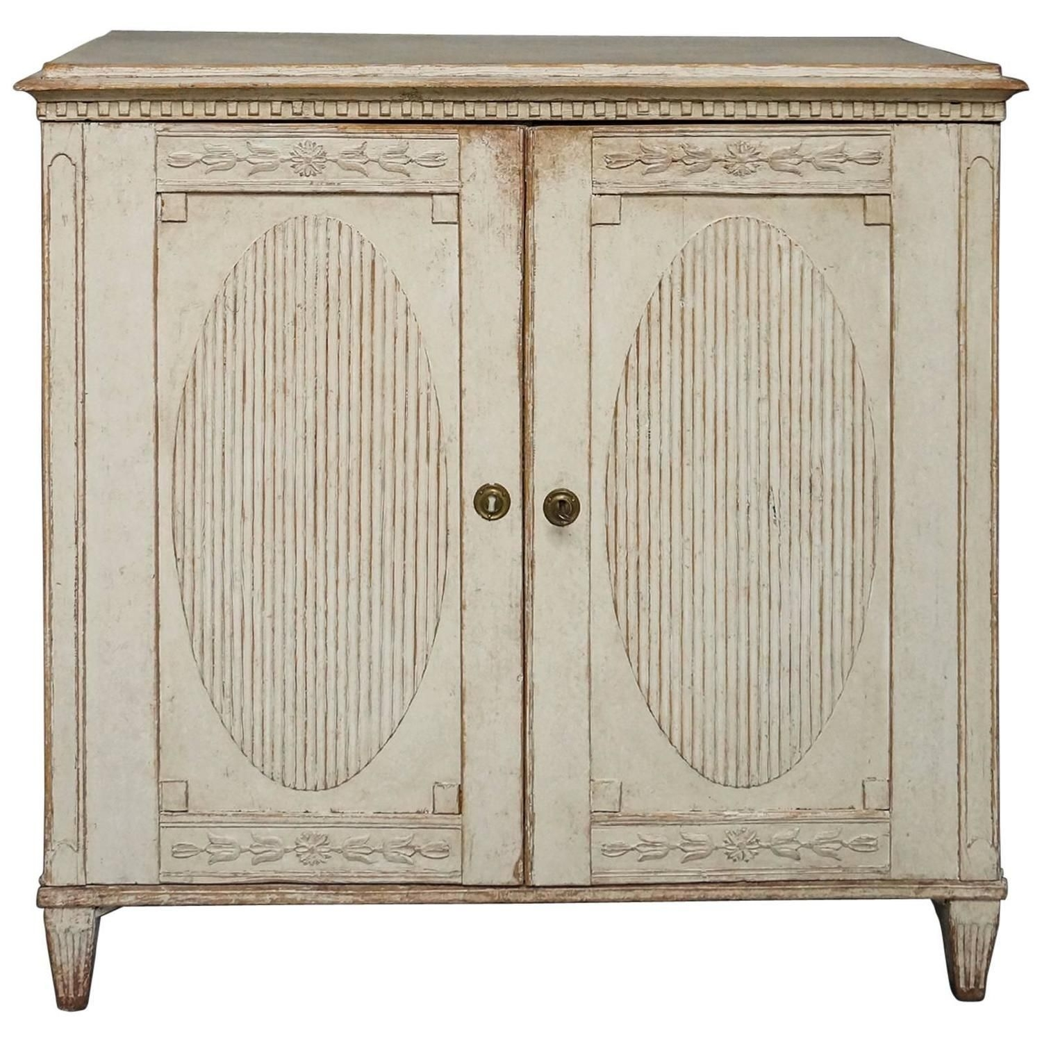 Period Gustavian Sideboard | Doors, Swedish Design And Shabby Vintage in Tobias 4 Door Sideboards (Image 15 of 30)