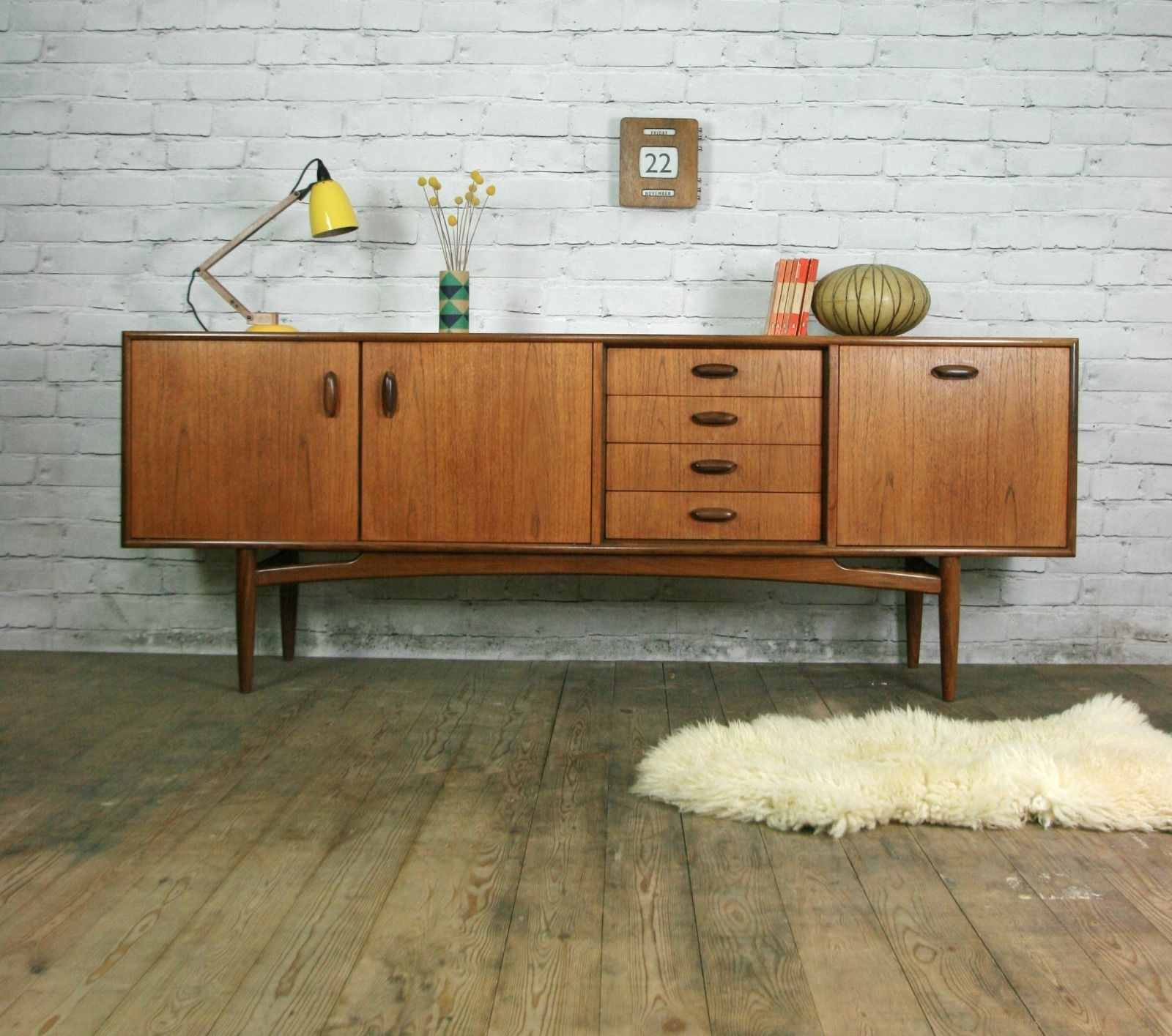 Pinalicia Spratley On Interiors | Pinterest | Mid Century For Gunmetal Perforated Brass Sideboards (Photo 25 of 30)