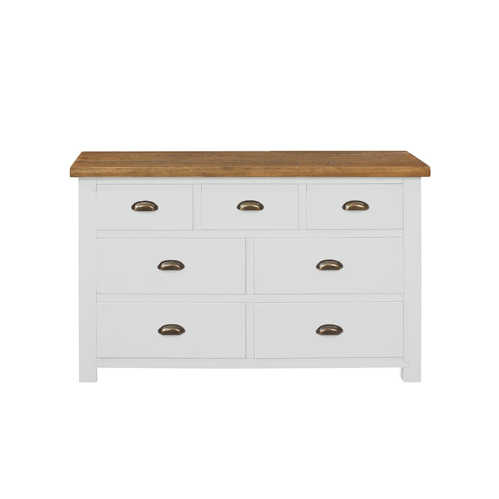 Portman 5 Drawer Slim Jim In Oak intended for Charcoal Finish 4-Door Jumbo Sideboards (Image 21 of 30)