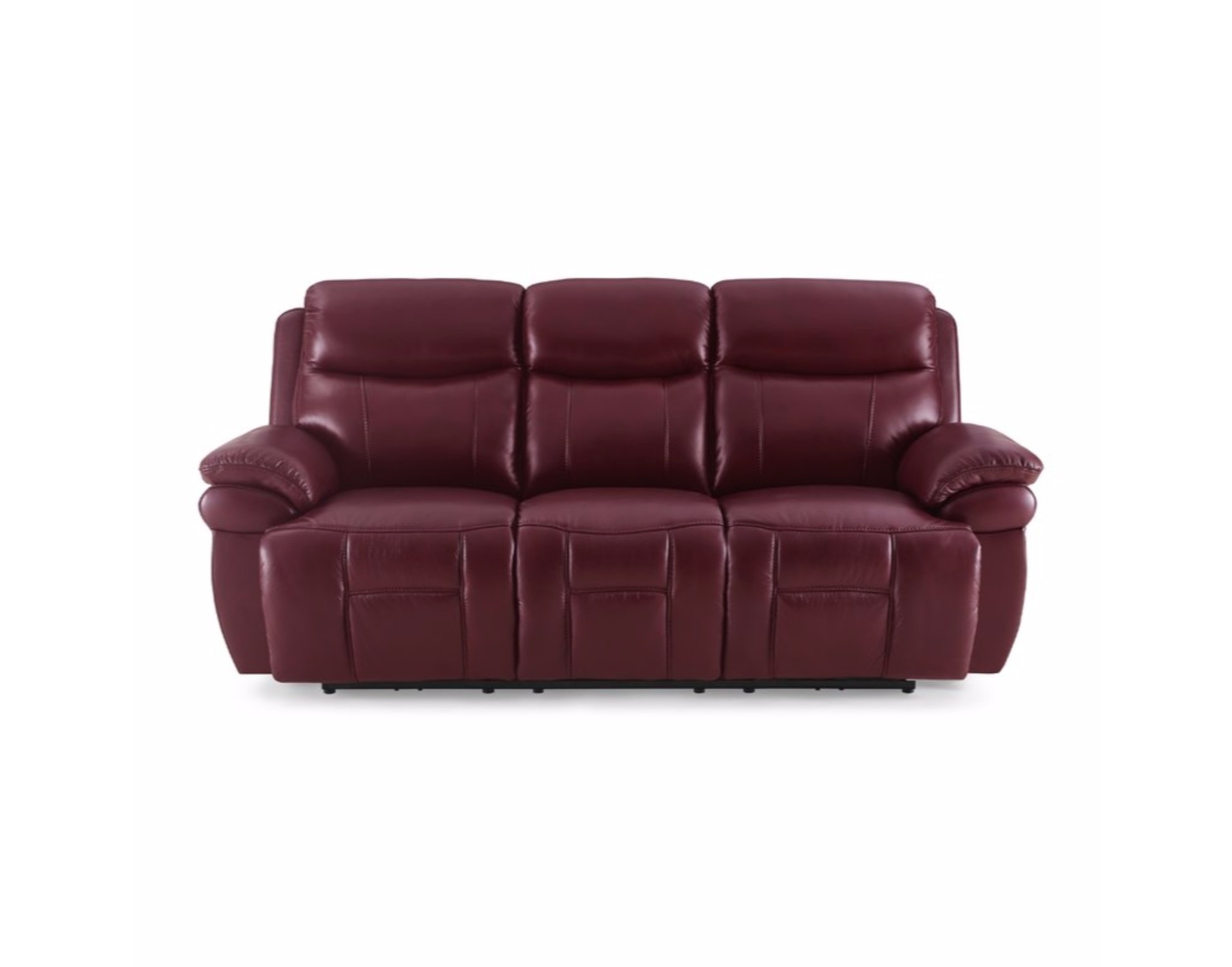 Power Reclining Sofa Vs Manual | Baci Living Room for Calder Grey 6 Piece Manual Reclining Sectionals (Image 22 of 30)